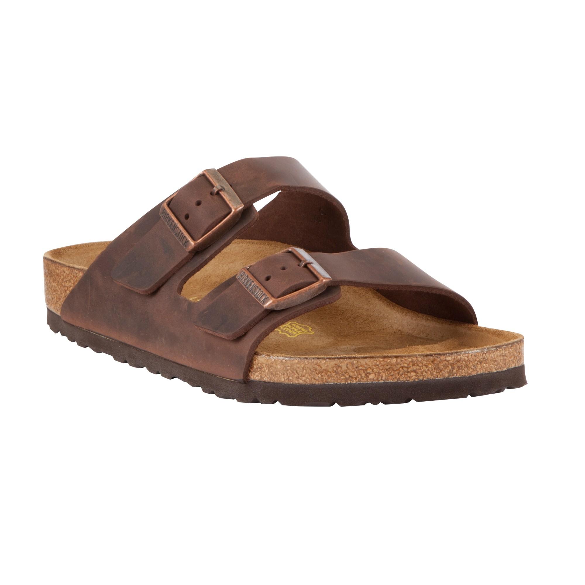birkenstock arizona mens sandals in brown for lyst