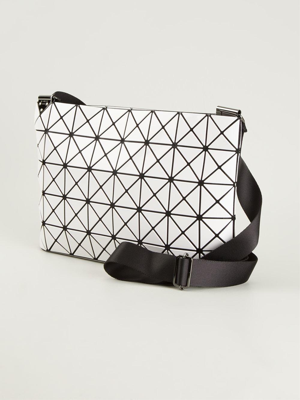 567d1e494db0 Lyst - Bao Bao Issey Miyake Prism Shoulder Bag in White