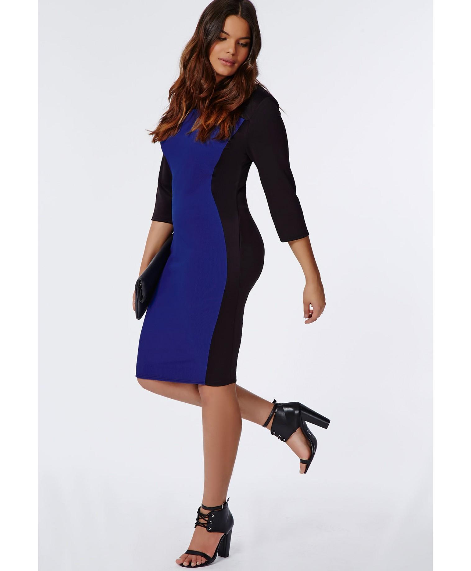 Plus Size Illusion Dress – Fashion dresses