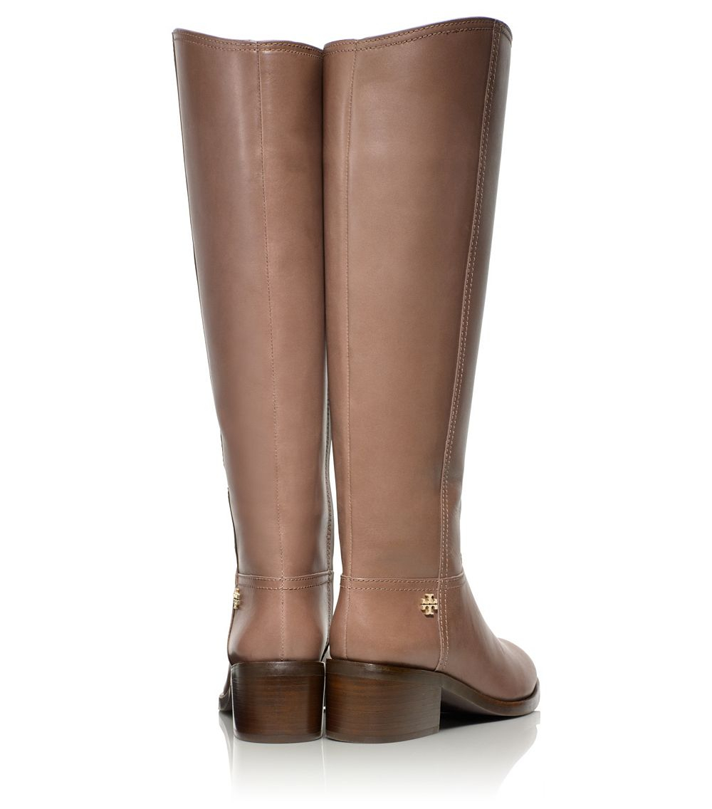 Tory burch Fulton Boot in Brown | Lyst