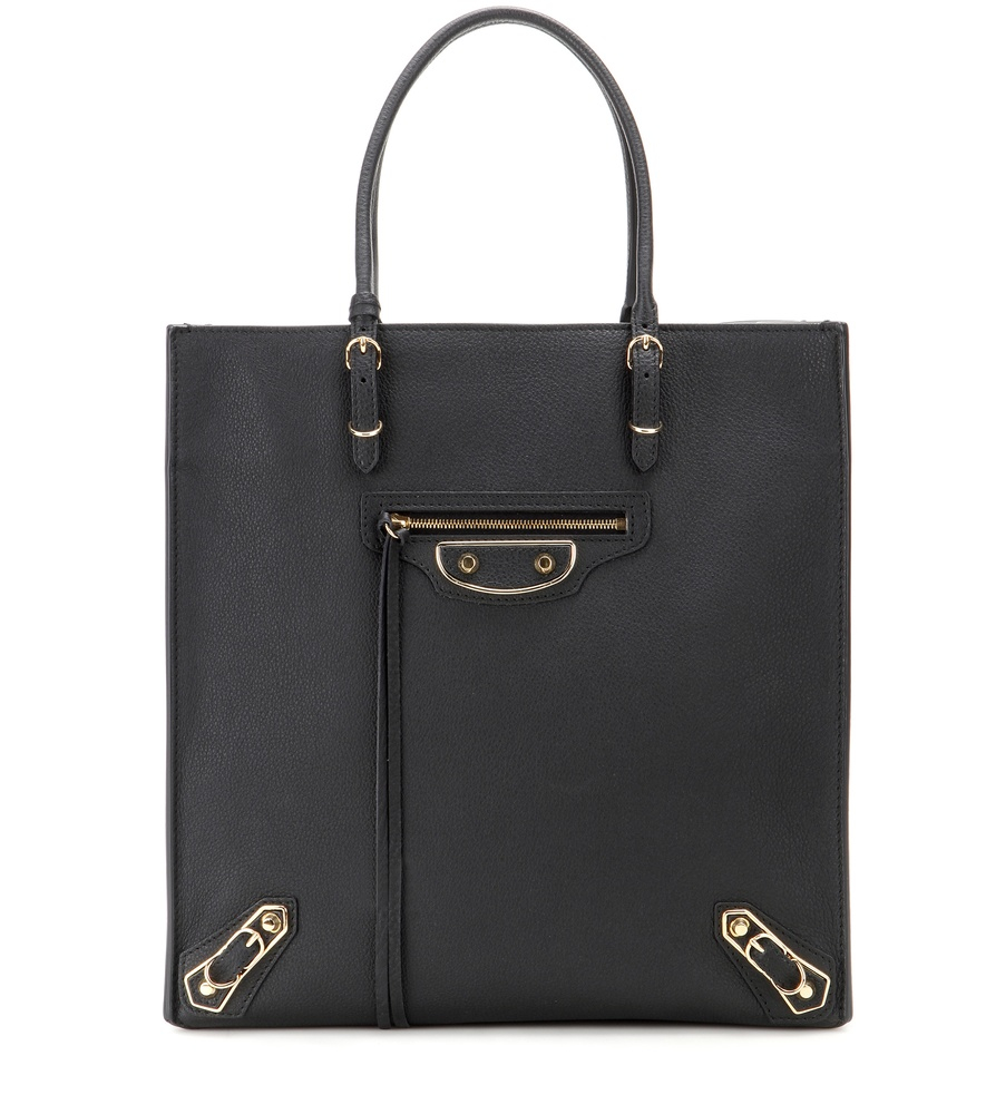 handbags see by chloe - balenciaga papier a6 textured-leather tote, balenciaga london outlet