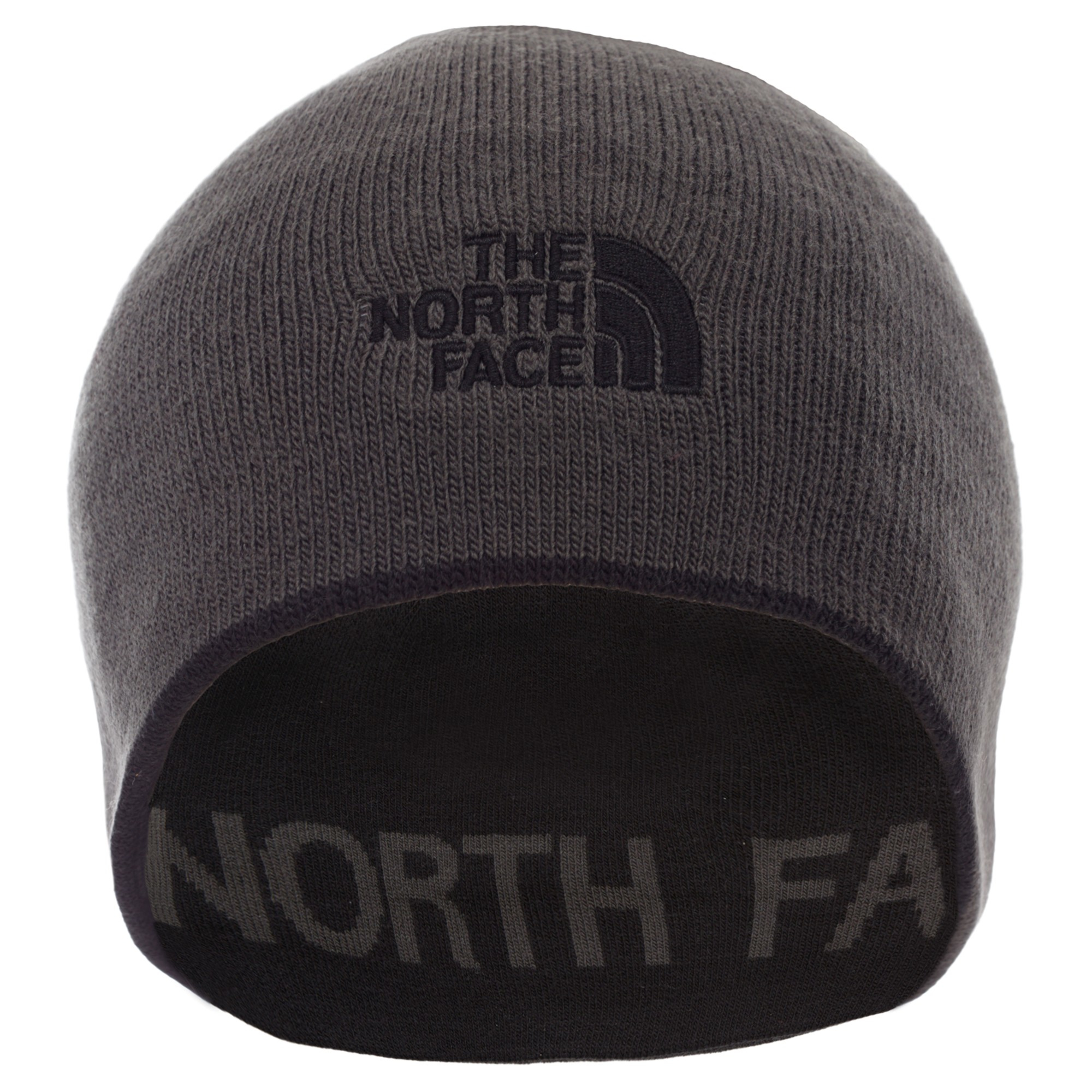 The North Face Reversible Banner Beanie in Gray for Men - Lyst 5d1b856697e