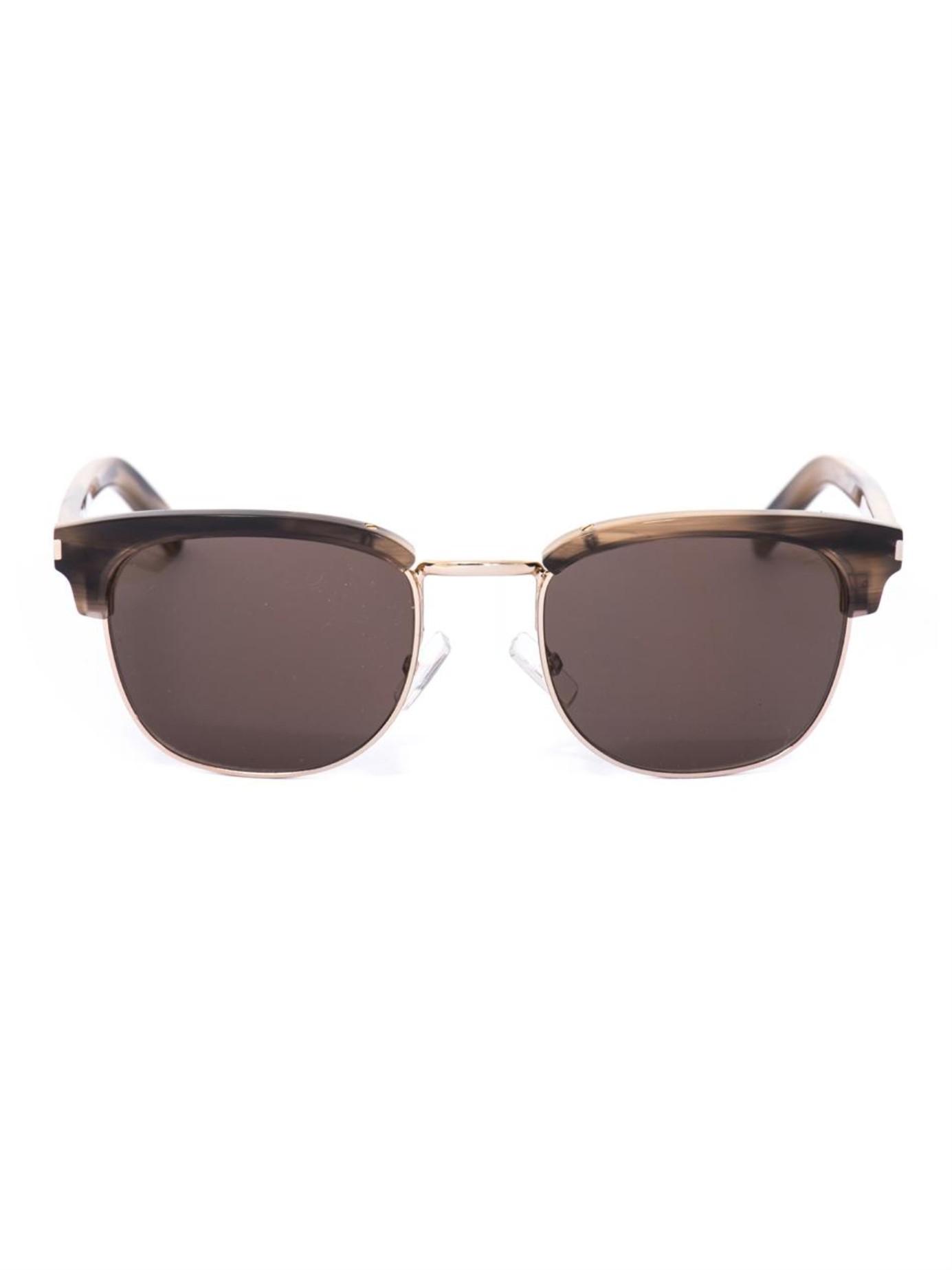 Lyst - Saint Laurent D-Frame Sunglasses in Black for Men