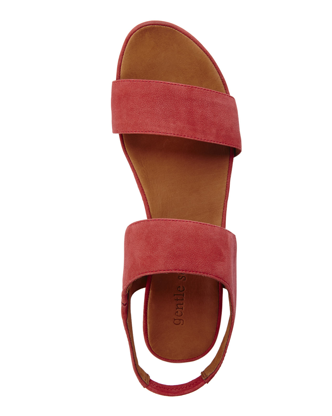 f43667f54502 Lyst - Gentle Souls Red Step Ahead Platform Sandals in Red