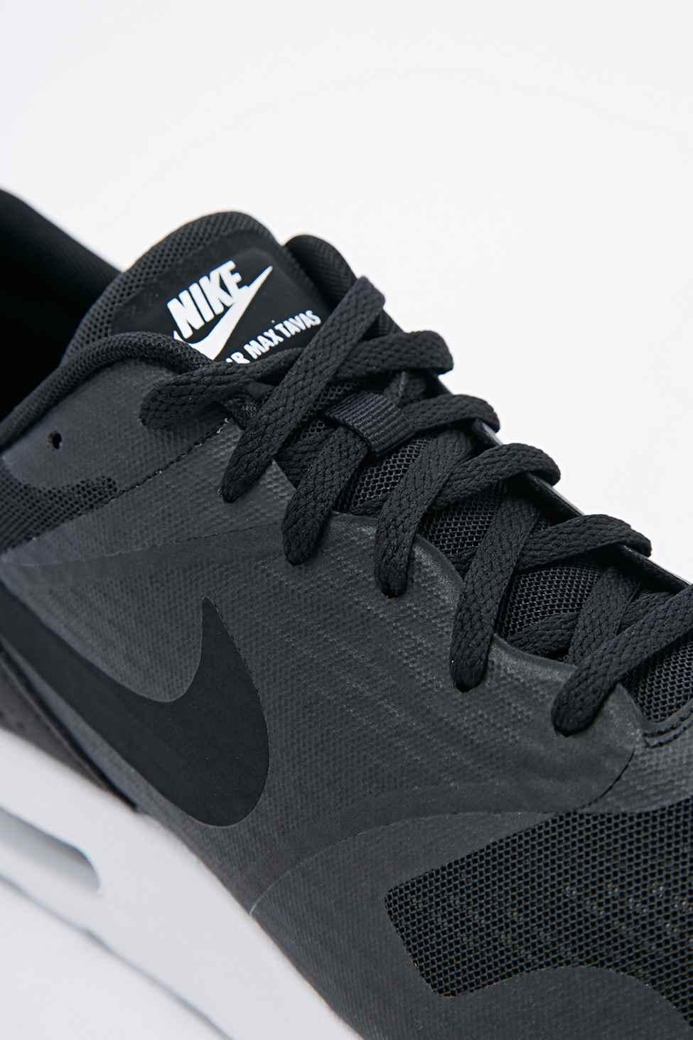 804184bce35ba4 Nike Air Max Tavas Essential Trainers Black leoncamier.co.uk