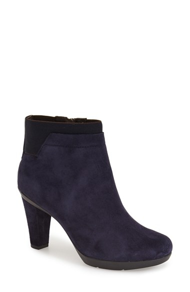 cb54cfb2a9f6b Geox Inspiration 1 Ankle Boots in Blue - Lyst