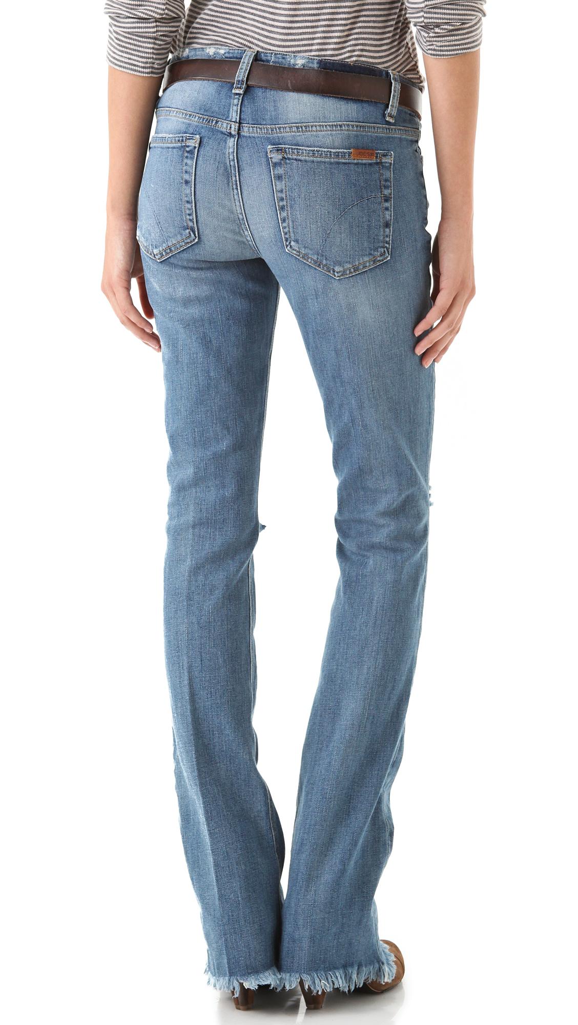 Joe's Jeans The Skinny Micro Flare Jeans in Blue (Deedi ...