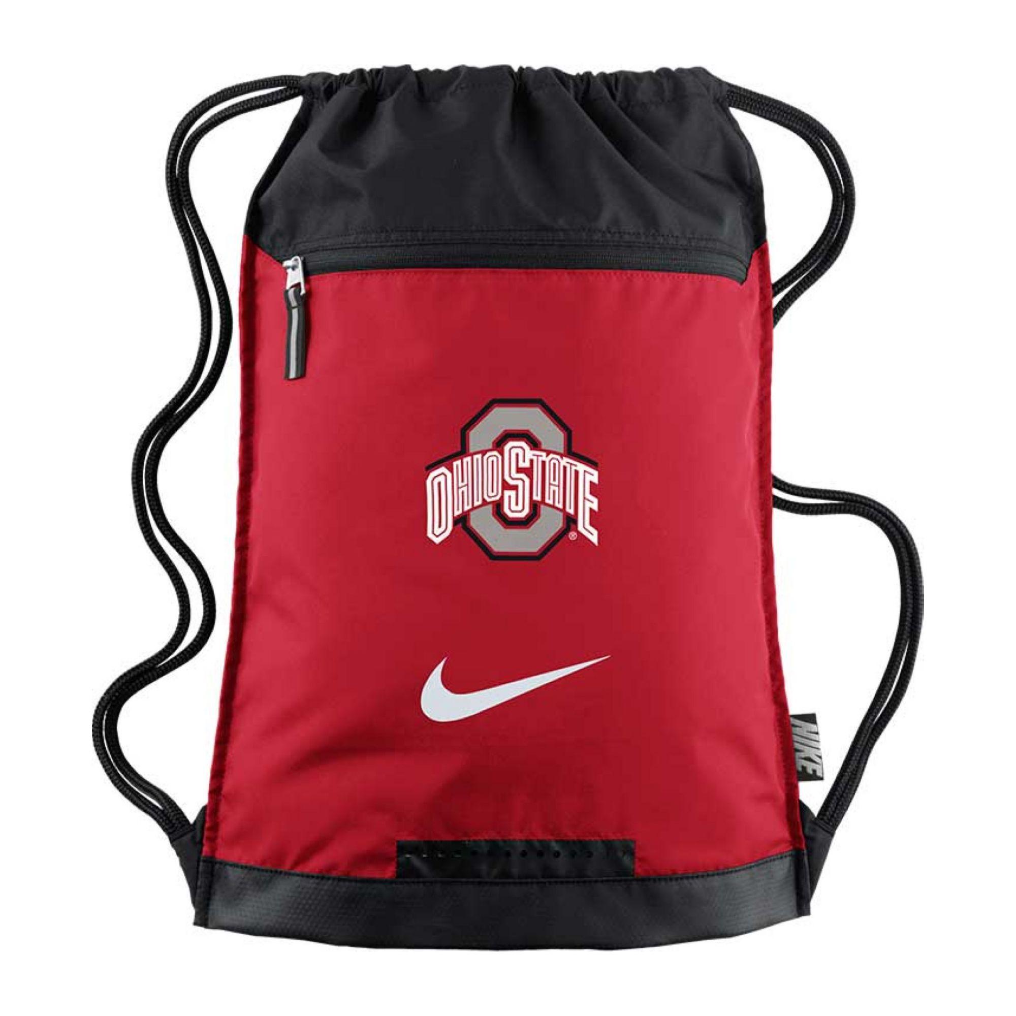 Gym Bag Jansport: Nike Ohio State Buckeyes Training Gym Bag In Red For Men