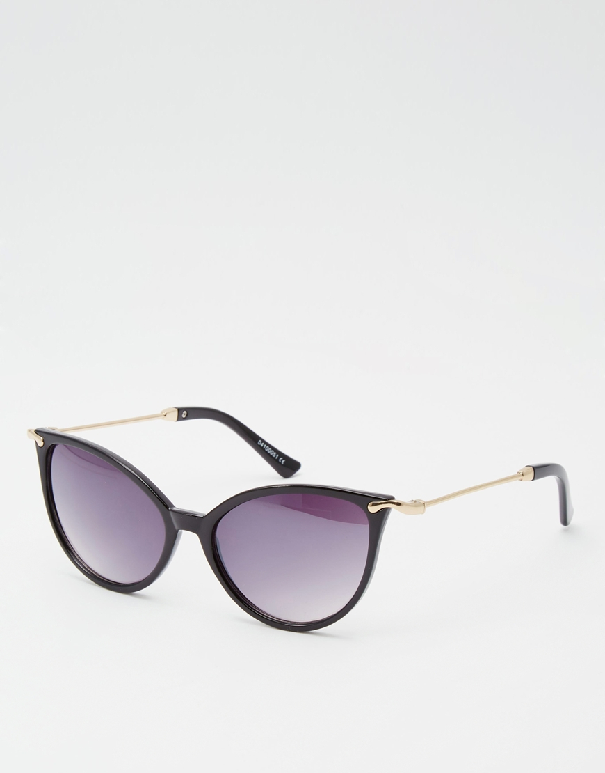 1fcb8b4177 Black Cat Eye Sunglasses With Gold Arms - Bitterroot Public Library
