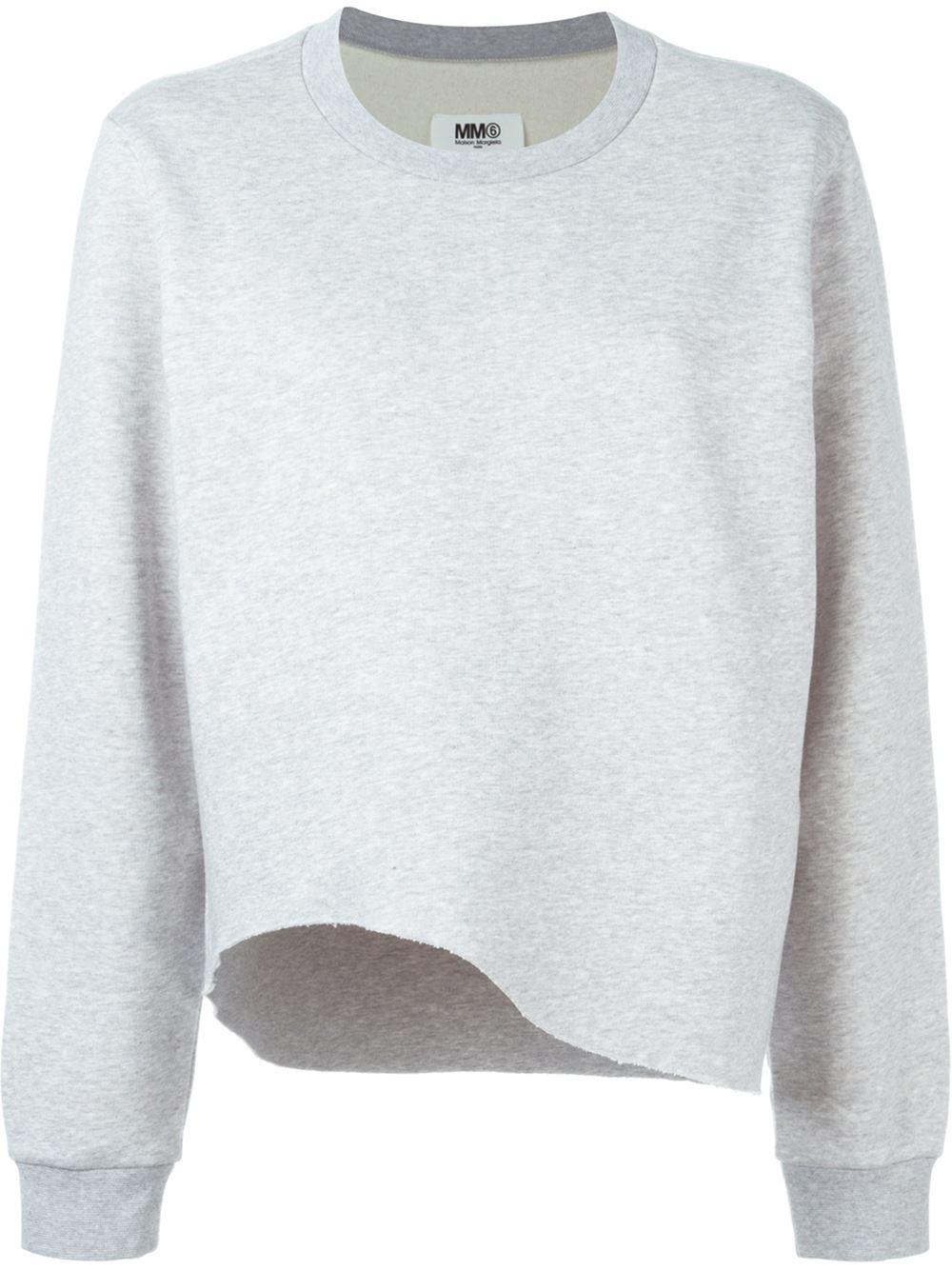 longsleeved loose sweater - Grey Maison Martin Margiela 100% Guaranteed Cheap Price NzGVYe4nu