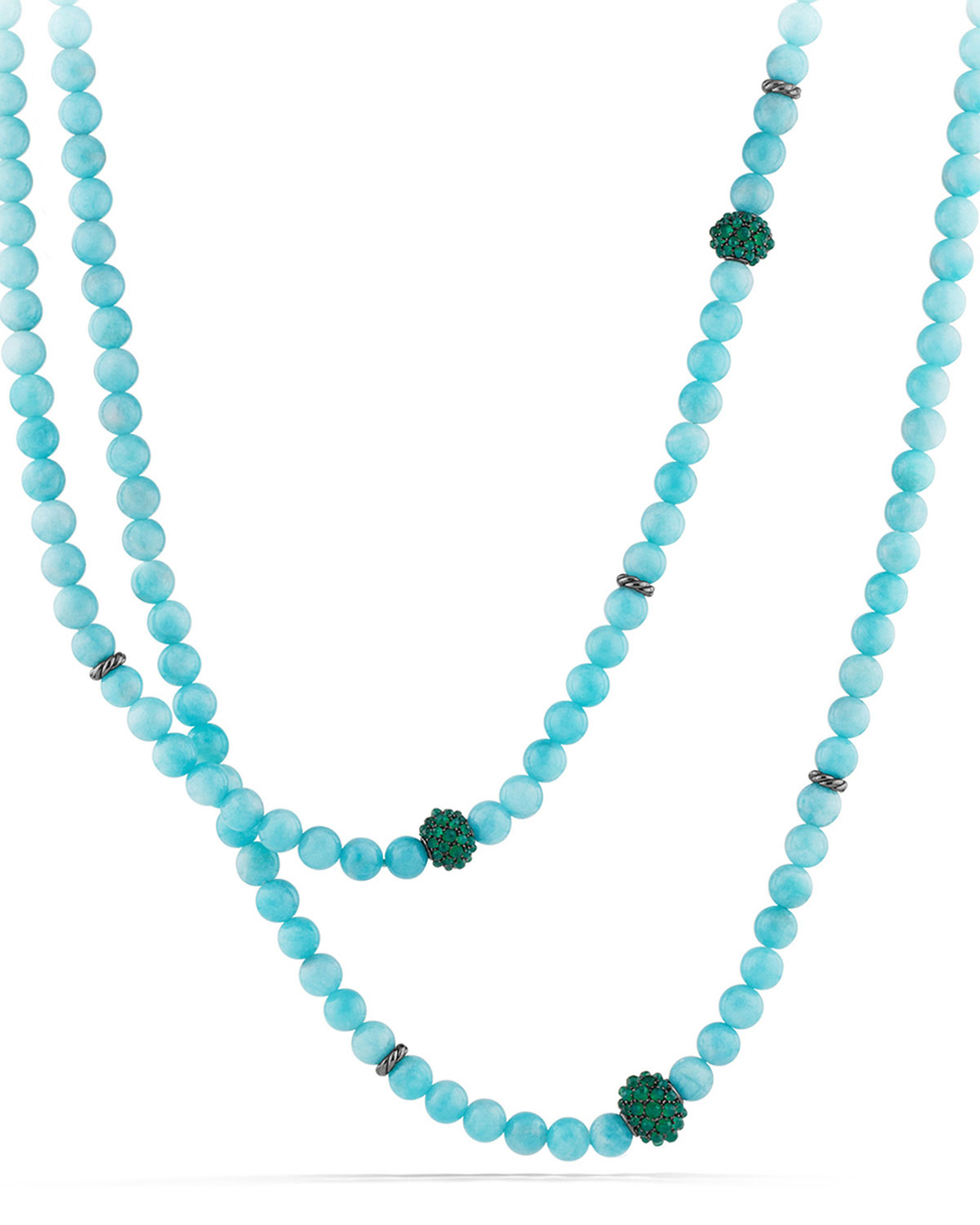 Lyst - David Yurman Osetra Necklace With Amazonite And