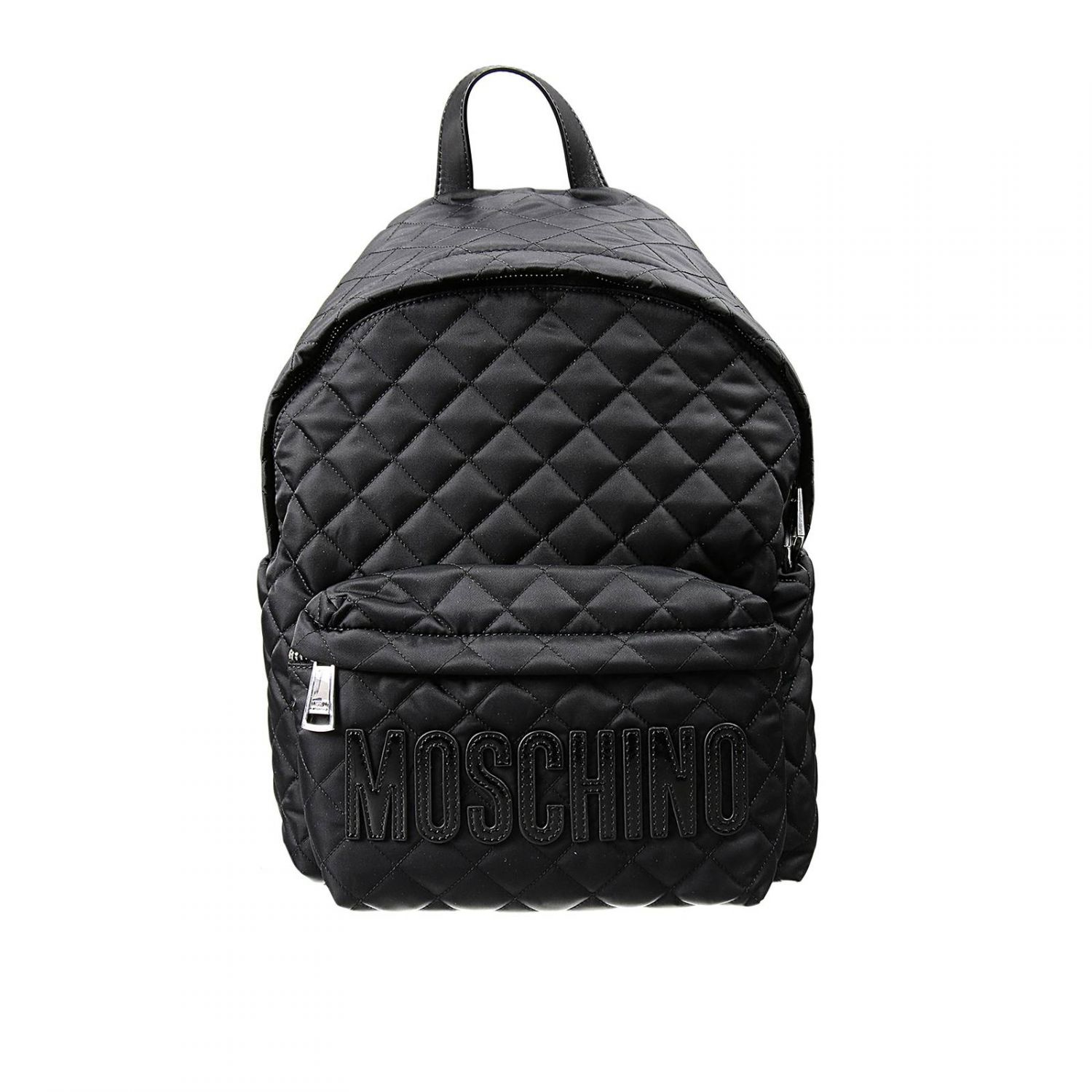 Moschino Backpack Woman In Black Lyst