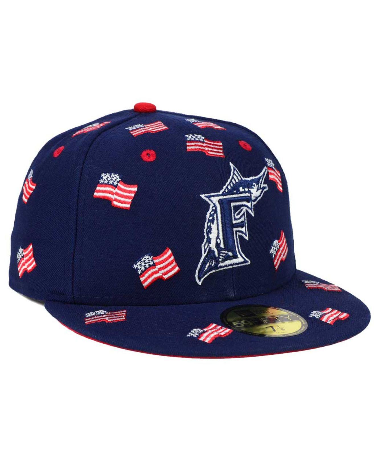 free shipping dab99 a5c93 amazon miami marlins new era mlb fall prism pack 59fifty cap dac3a 5a95a   reduced lyst ktz florida marlins all flags 59fifty cap in blue for men  31237 5b403