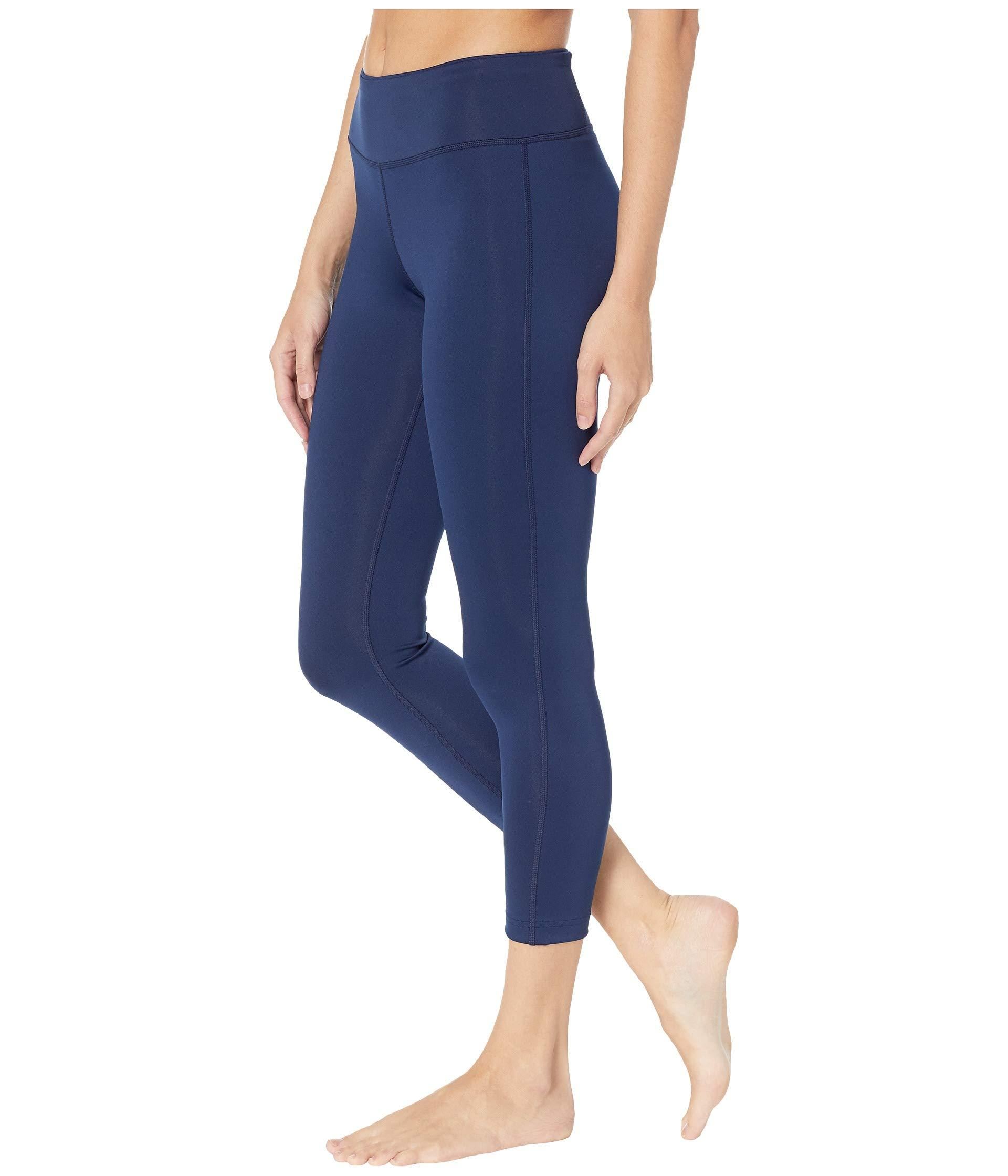 a5416b4bf9e Lyst - Reebok Workout Ready 7 8 Tights in Blue