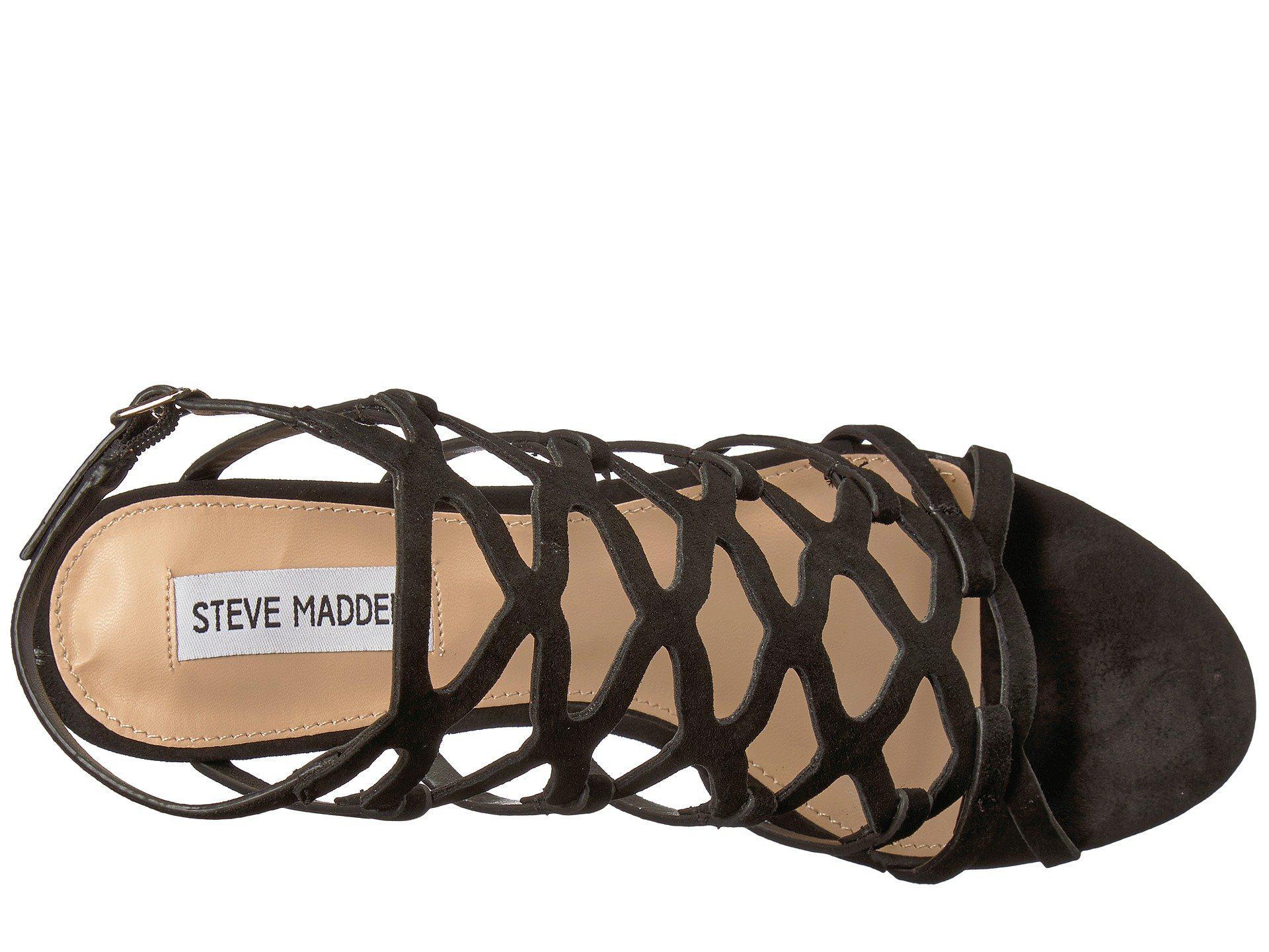 8cbd3d1466e Lyst - Steve Madden Christina in Black