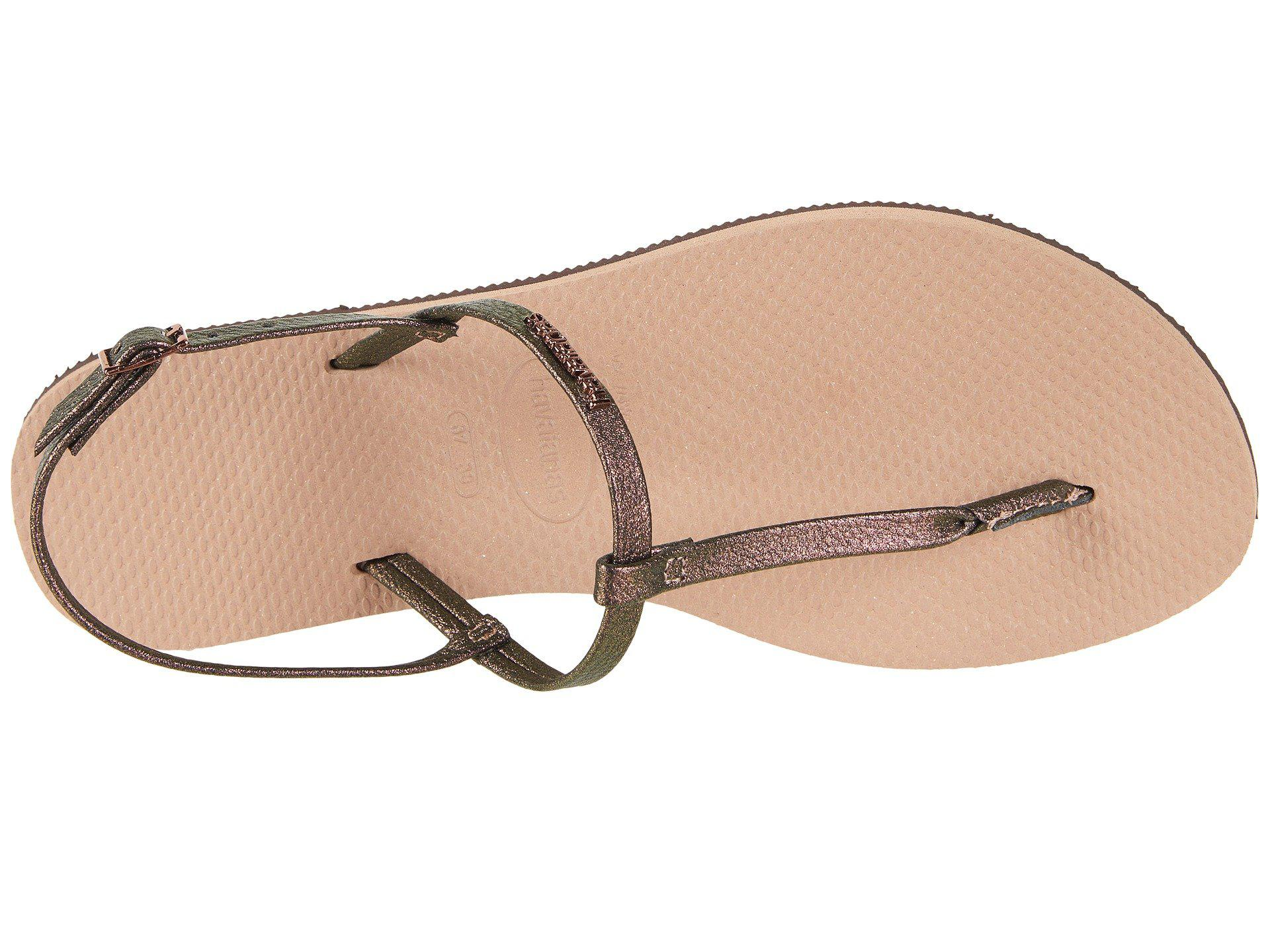 0acb390d65ee8 Havaianas - Multicolor You Riviera Sandals - Lyst. View fullscreen