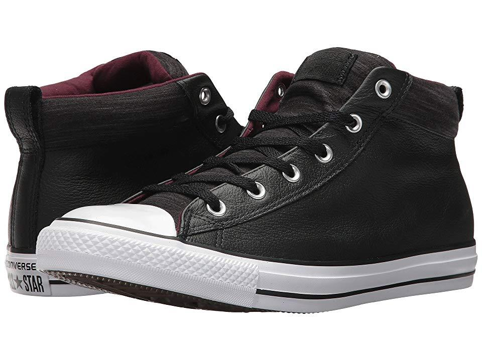 fb4f05f2d32 Converse Chuck Taylor(r) All Star(r) High Street Leather W/ Fleece ...