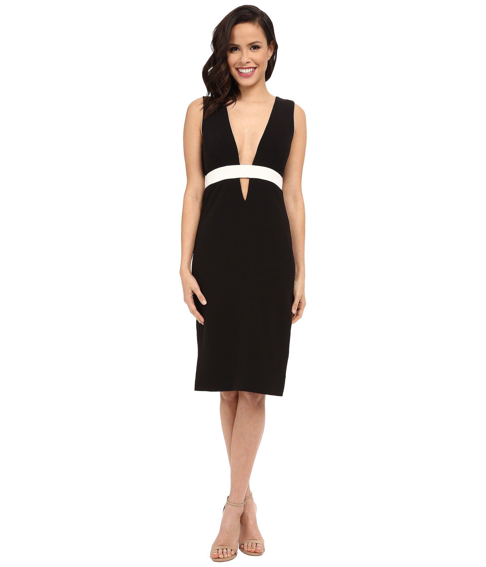 1b3d1c1fcc2 Lyst - Nicole Miller Viola Color Black Cocktail Dress in Black ...