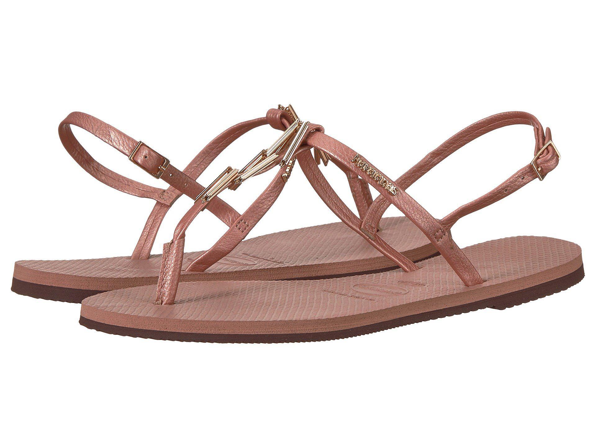 4f3e99cc36ed3 Lyst - Havaianas You Riviera Maxi Sandals - Save 29%