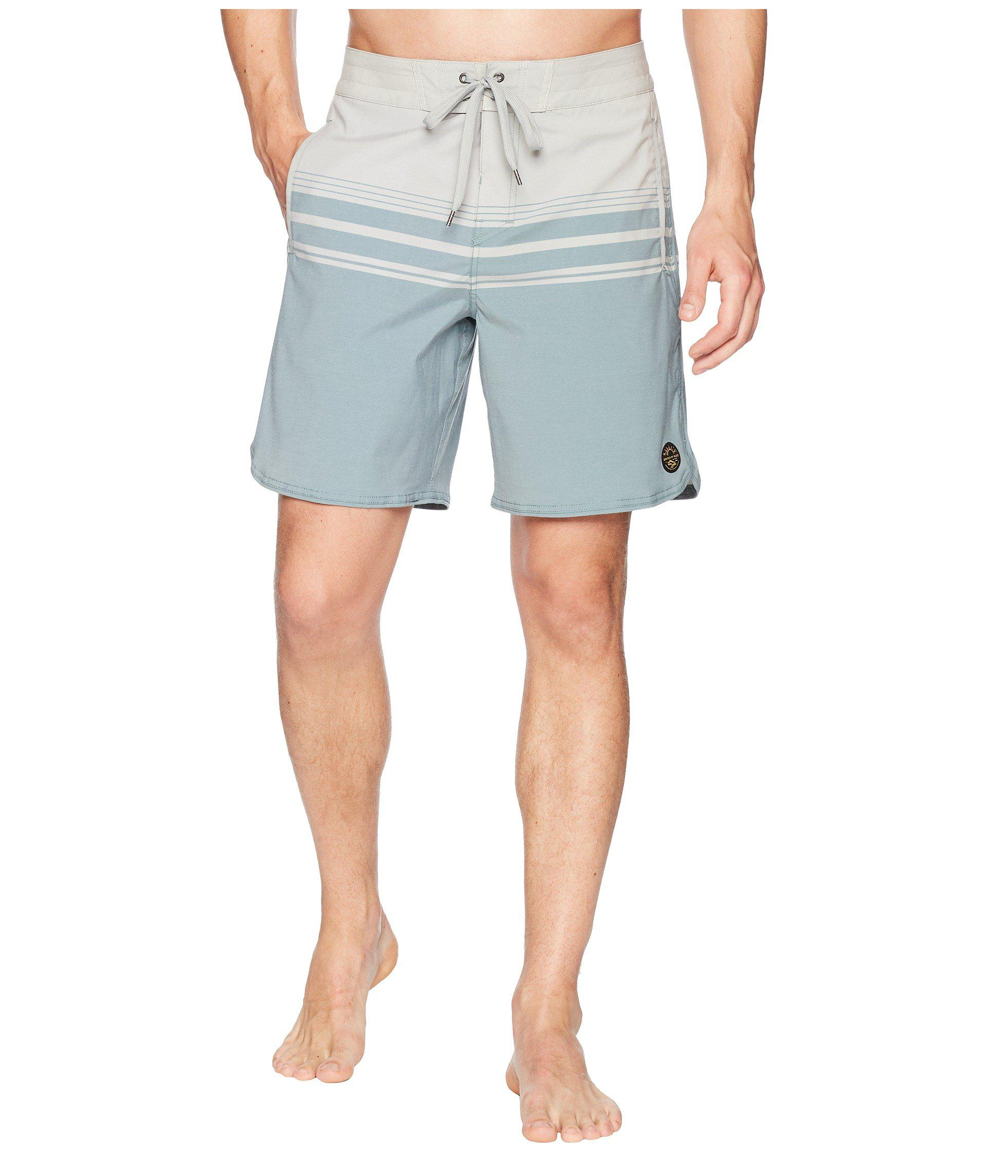 985fe66c49 Lyst - United By Blue Backwater Scallop Boardshorts in Gray for Men ...