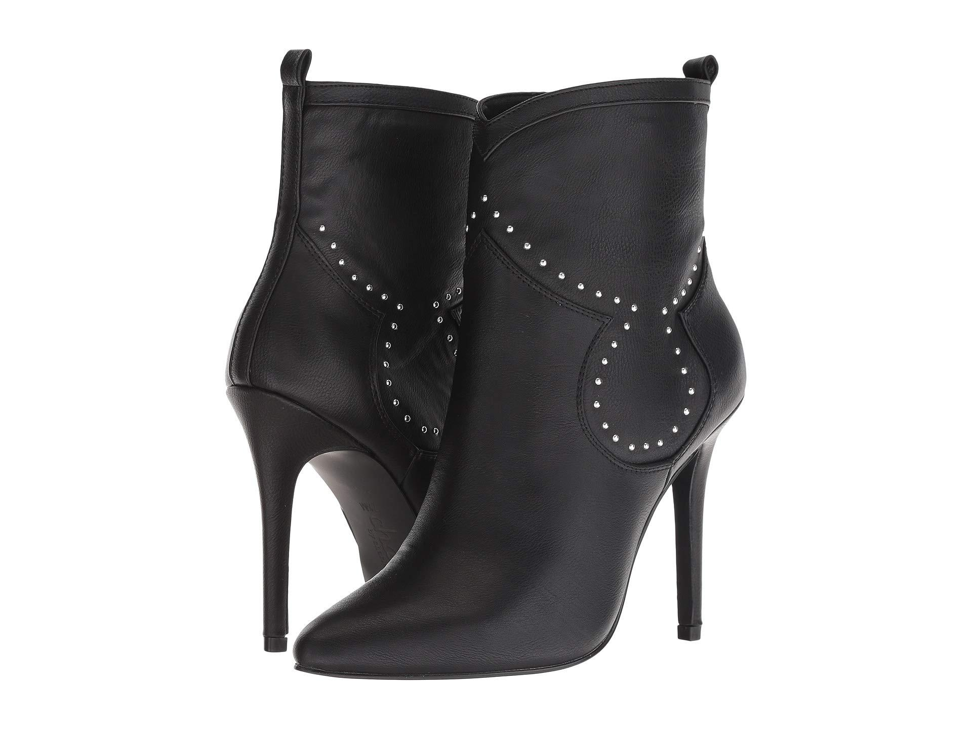 2cf907cc05e Lyst - Charles David Plot Ankle Bootie in Black - Save ...
