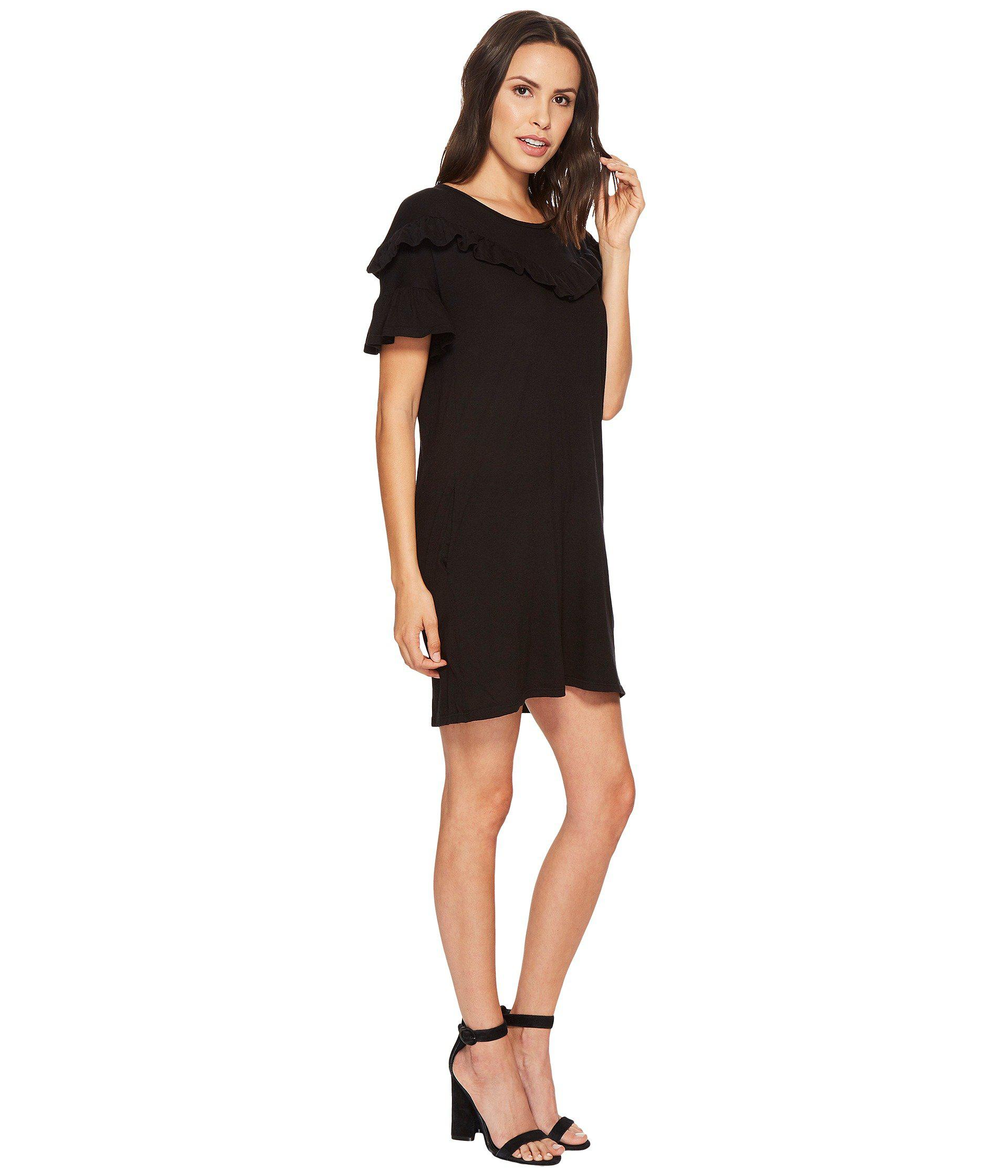 43bc95eb79 PAIGE - Black Adalie Dress - Lyst. View fullscreen
