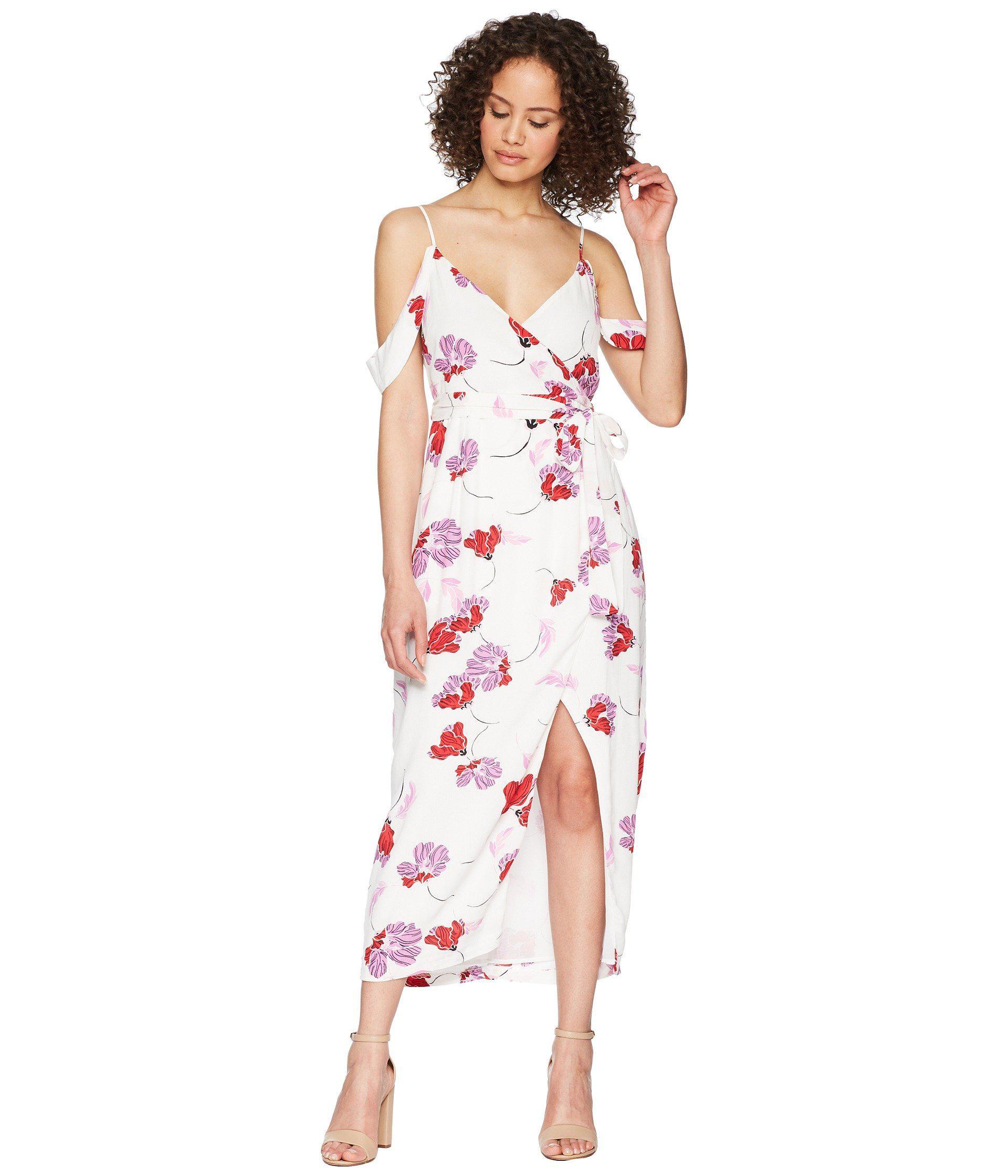 4e11b10b54 Lyst - Bardot Floral Wrap Dress - Save 44%