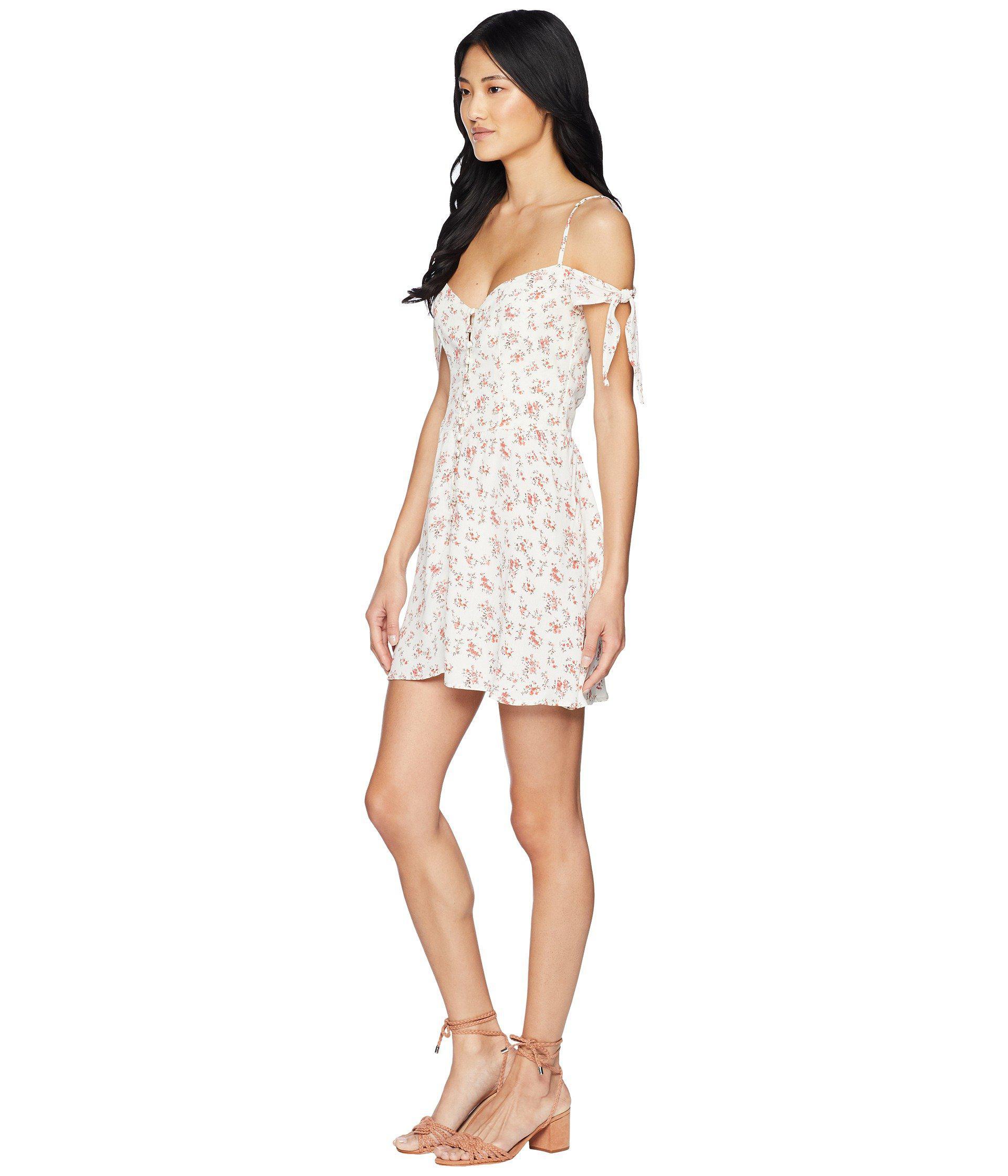 c2e3b12da2f7 Flynn Skye Bodhi Mini Dress in White - Lyst