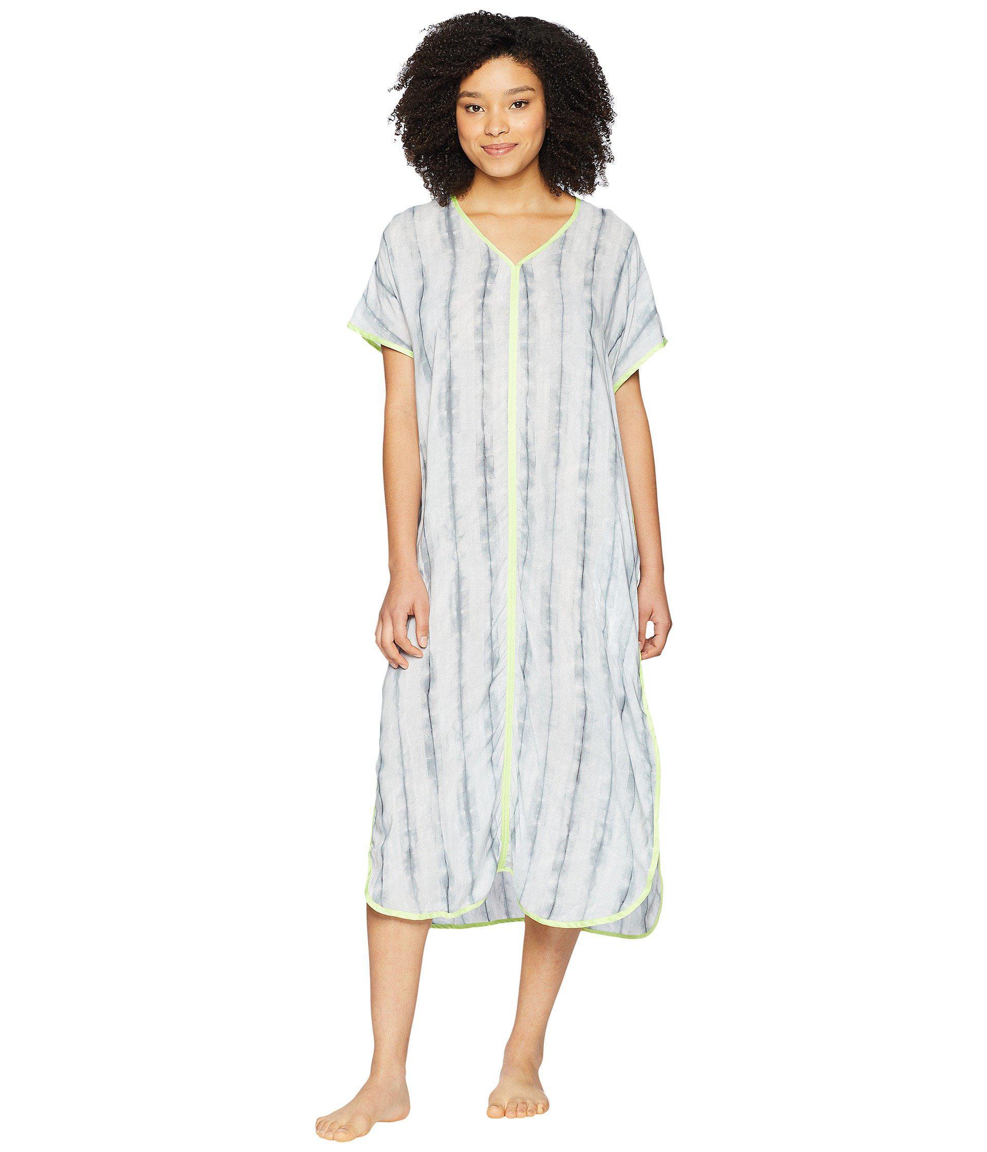 472e9ee6b5a09a Donna Karan. Women s Printed Maxi Sleepshirt