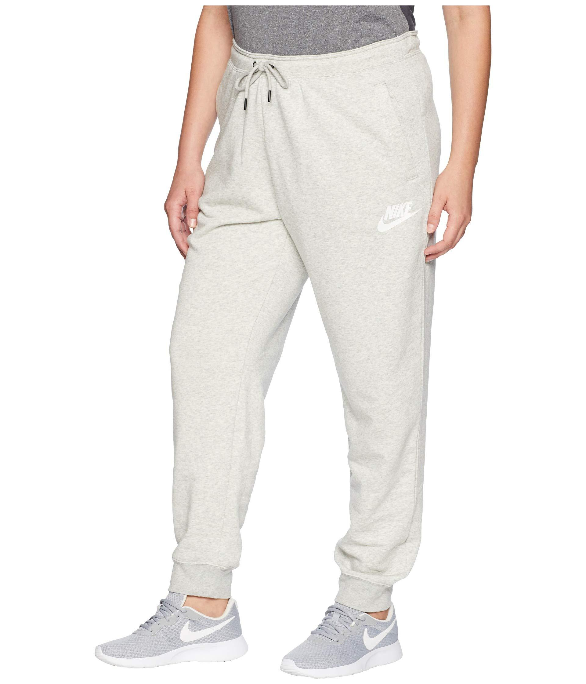 97ab49b5bcf Lyst - Nike Plus Size Regular Rally Pants in Gray - Save 2%