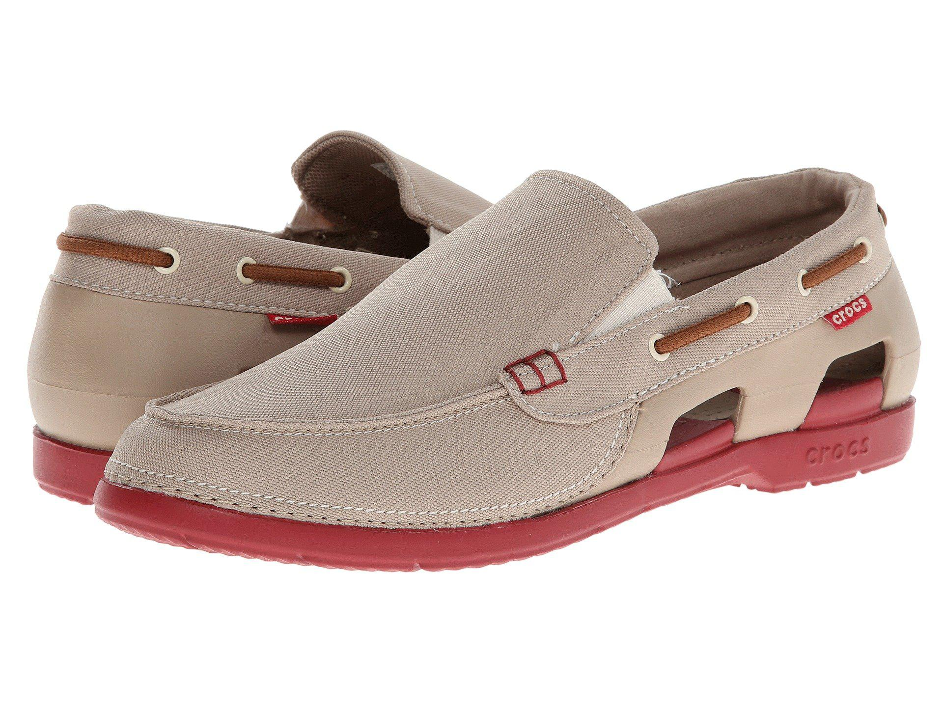 c5672a18c Lyst - Crocs™ Beach Line Boat Slip for Men