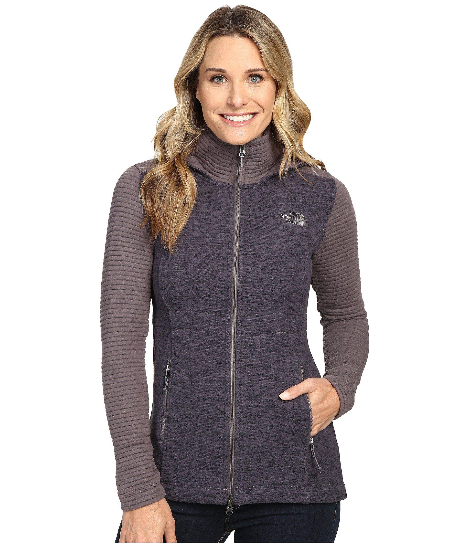 The North Face. Women's Gray Indi Insulated Hoodie