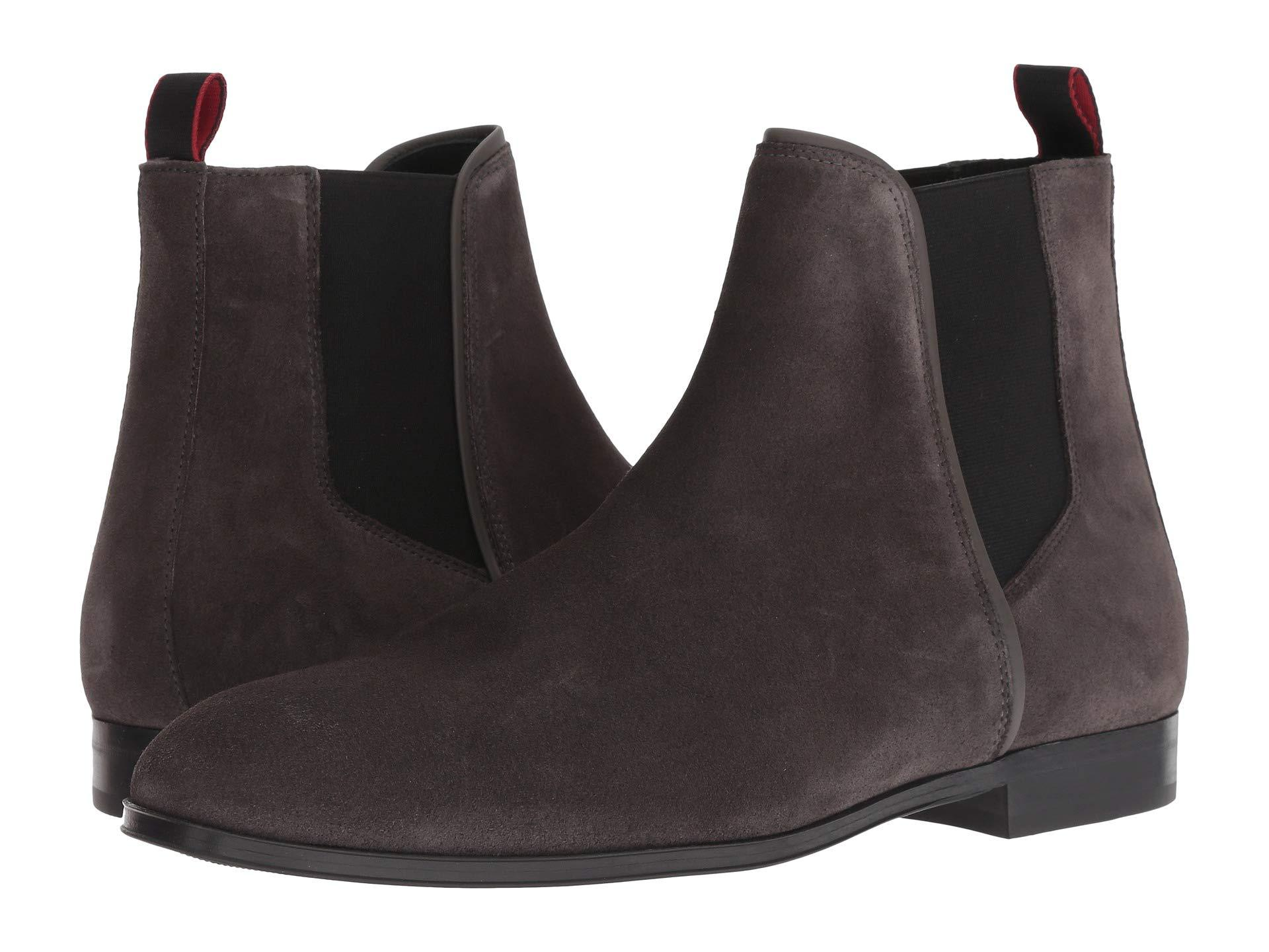 b909c76c5a6 Lyst - BOSS Boheme Chelsea Boot Casual By Hugo in Gray for Men ...