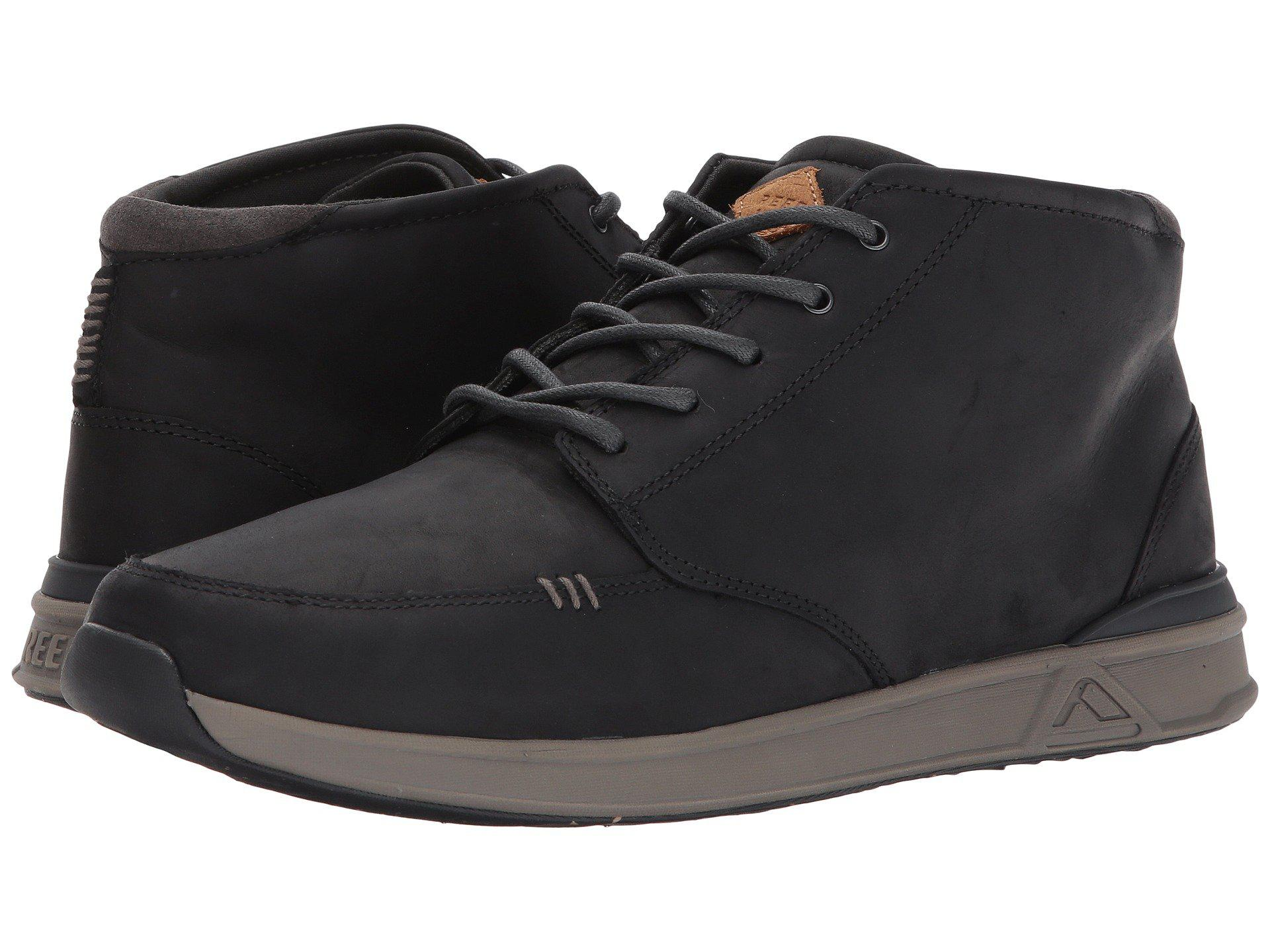 42cab47ab98cc Lyst - Reef Rover Mid Fgl in Black for Men - Save 8%