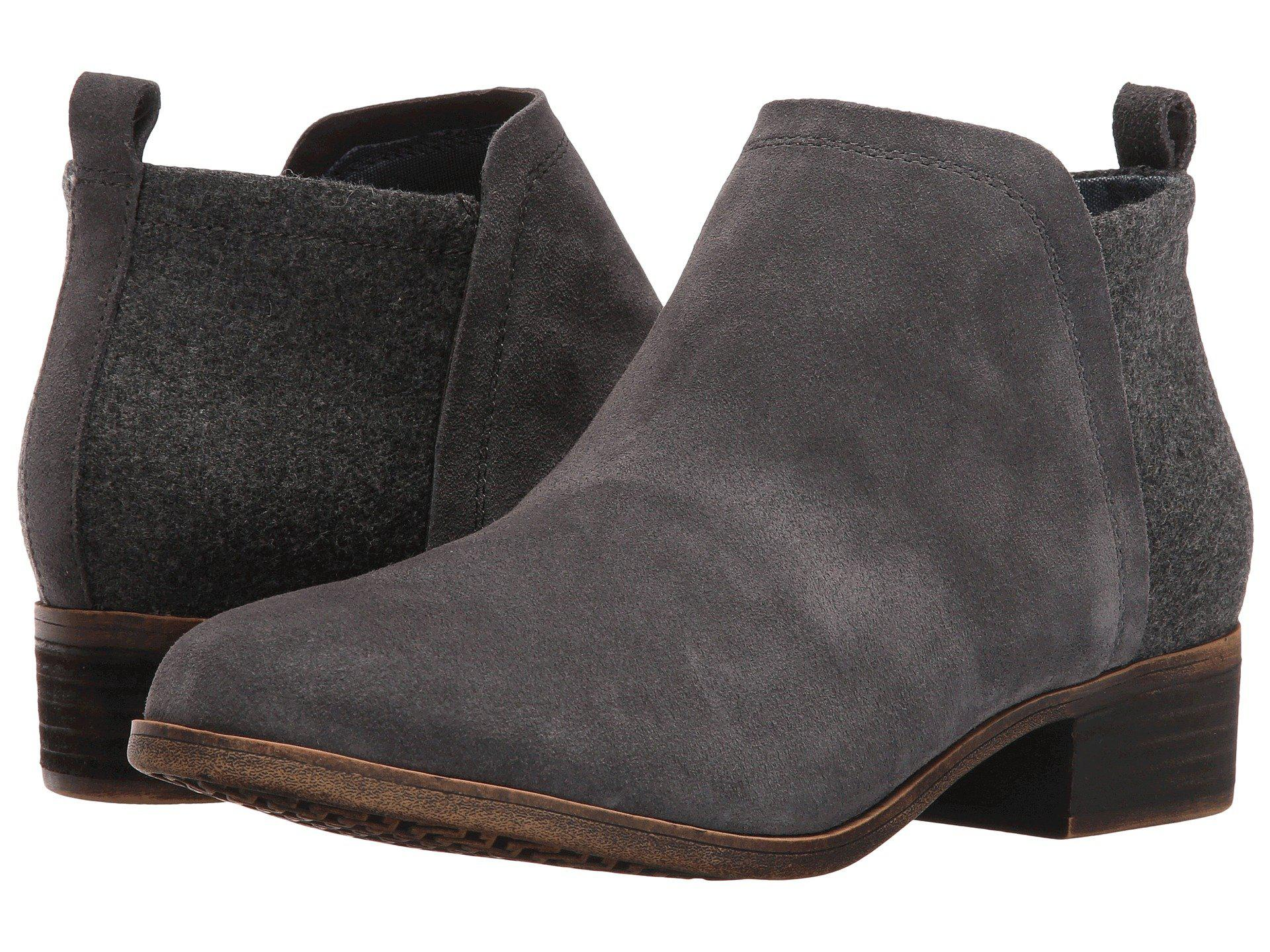 74bd4f94d81 Lyst - TOMS Deia Fashion Boot in Gray