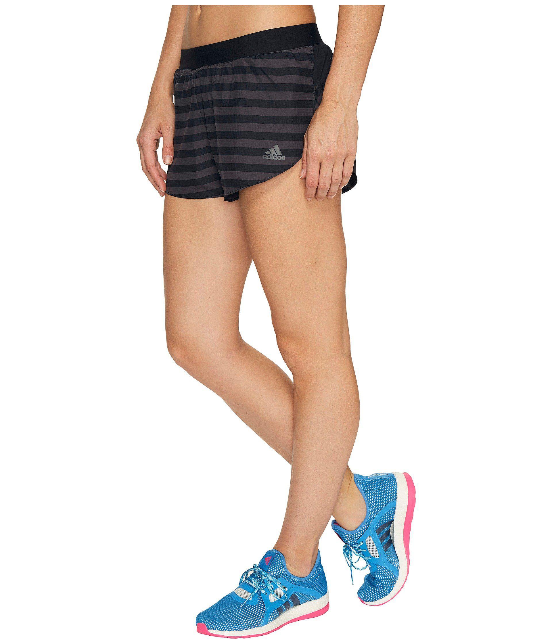 Adidas Split Black Adizero Lyst In Shorts wq4xd7