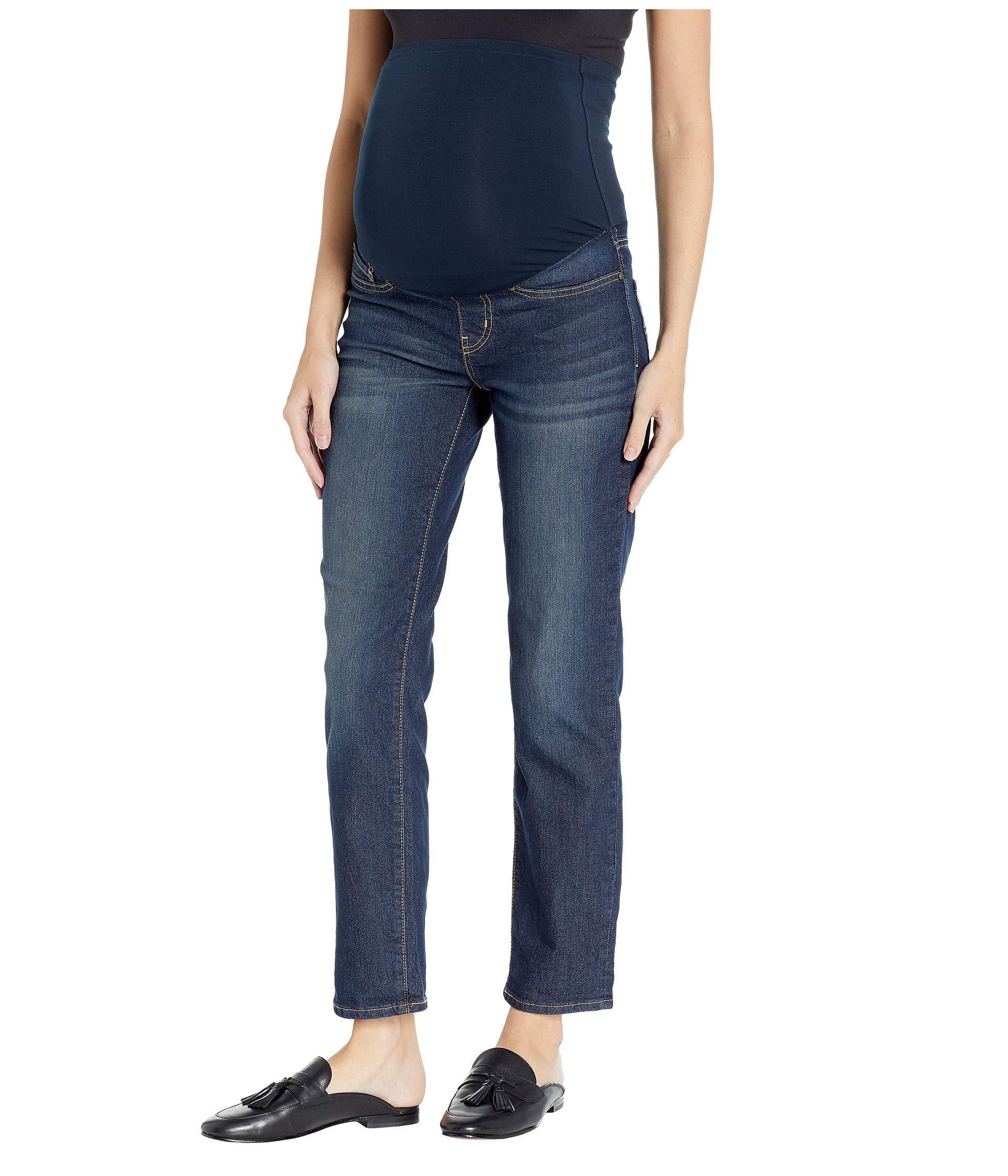 ef7d4fceab3bc Signature by Levi Strauss   Co. Gold Label. Women s Blue Maternity Slim  Boyfriend Jeans