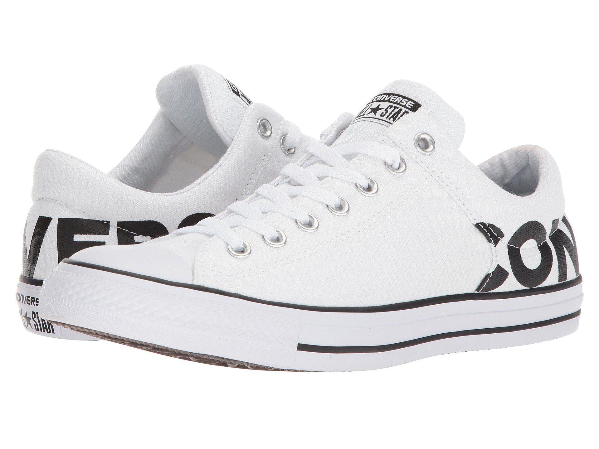 840c551adfacd3 Lyst - Converse Chuck Taylor® All Star® High Street Wordmark Ox in ...
