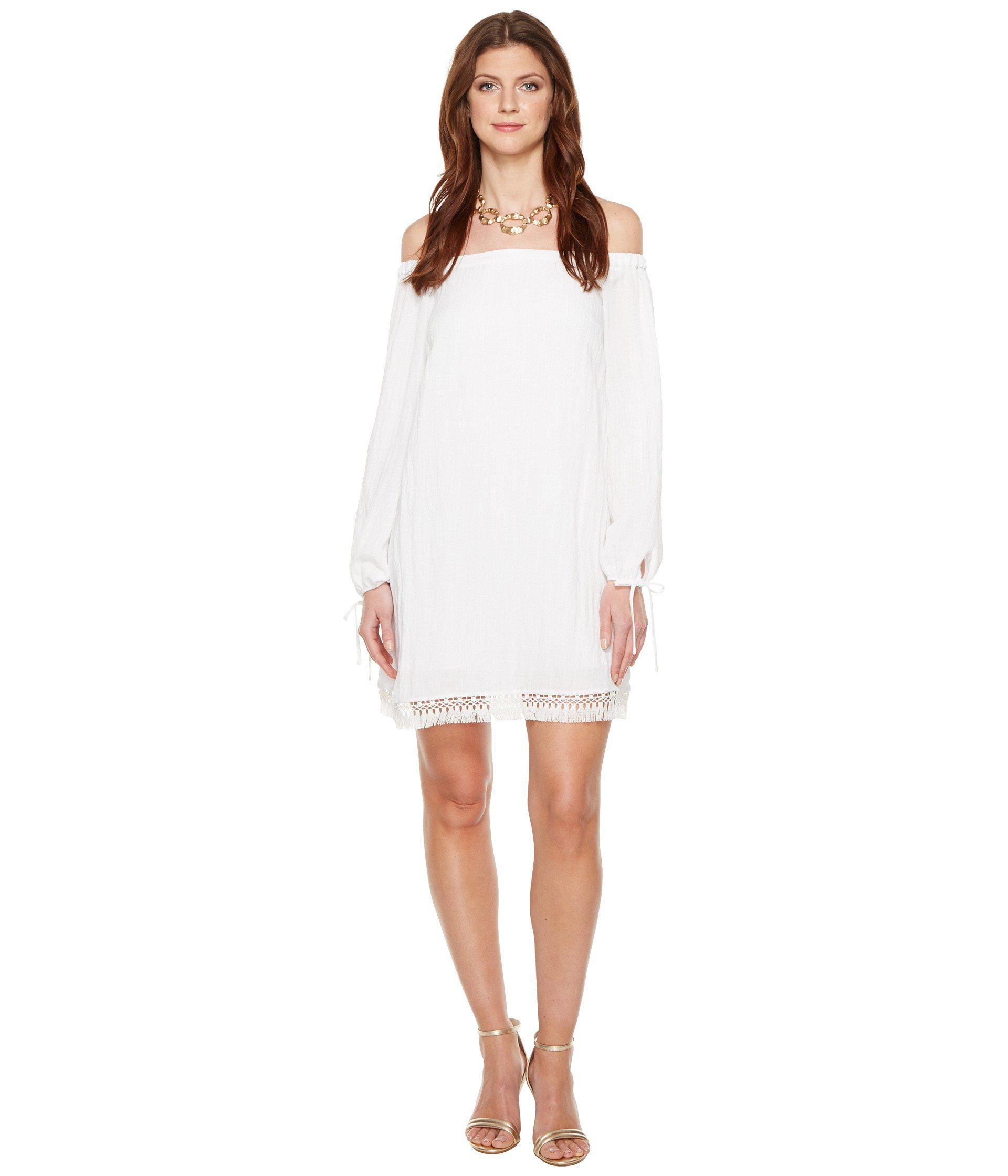 1460f9e7097d94 Lilly Pulitzer Adira Dress in White - Lyst