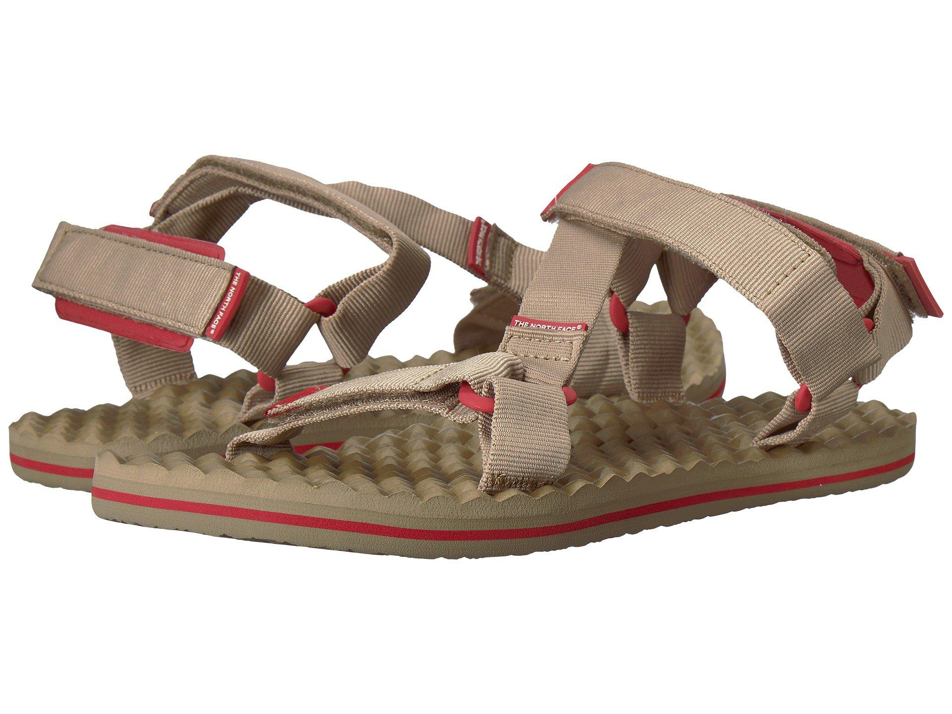 The North Face Base Camp Switchback Sandals in Tan/Red sSSjjam