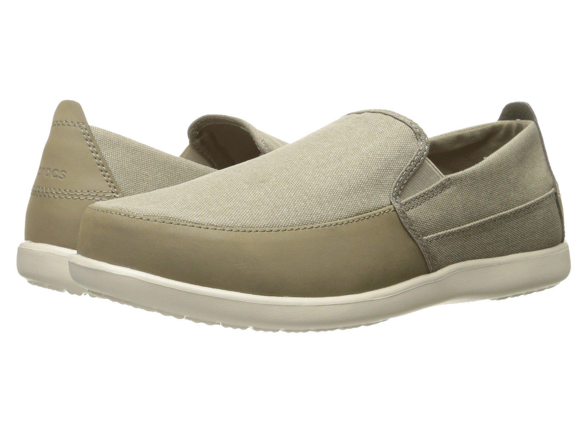 39f14d8cf9205c Lyst - Crocs™ Santa Cruz Deluxe Slip-on in Natural for Men