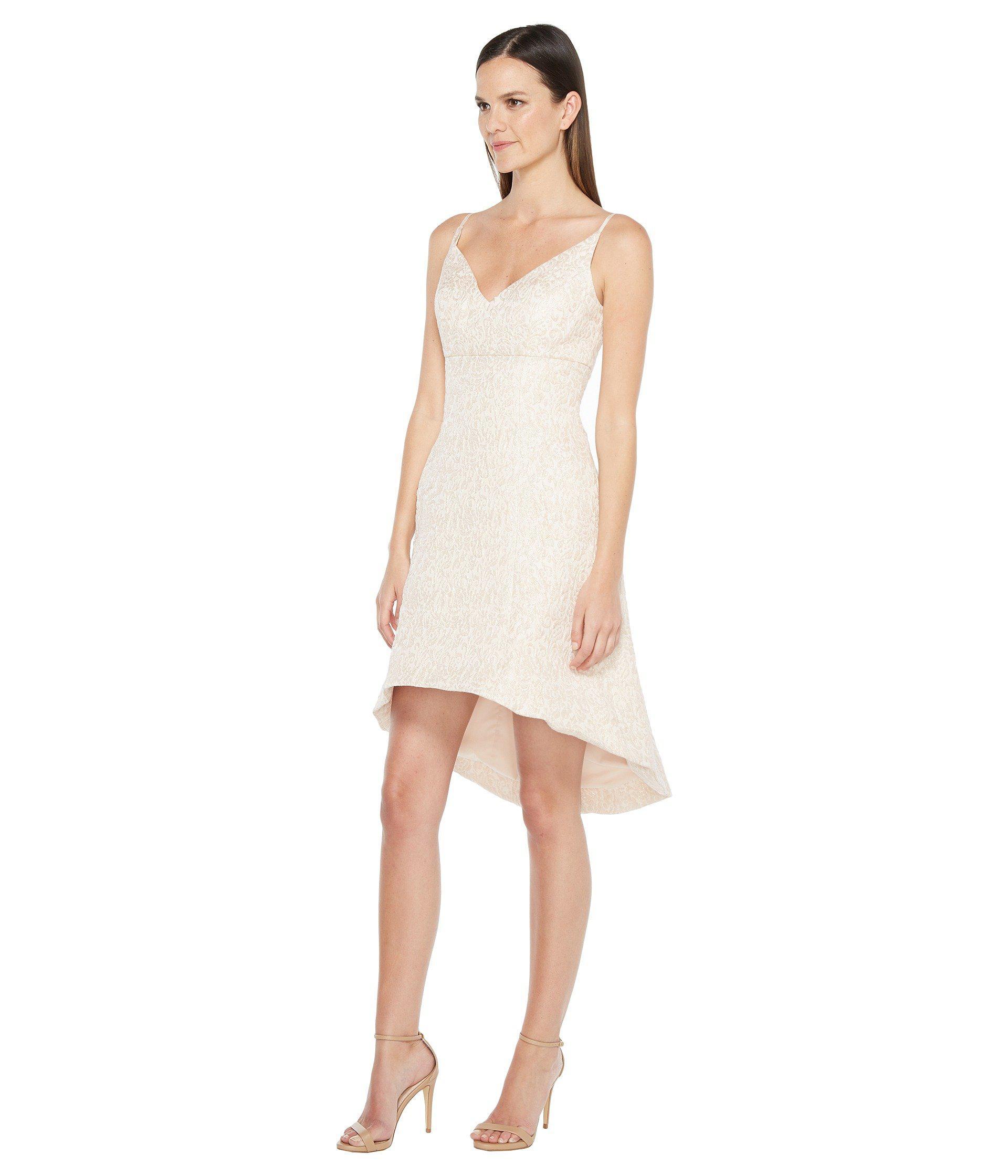 Lyst - Aidan Mattox Jacquard Fit And Flare Dress 7426f7078
