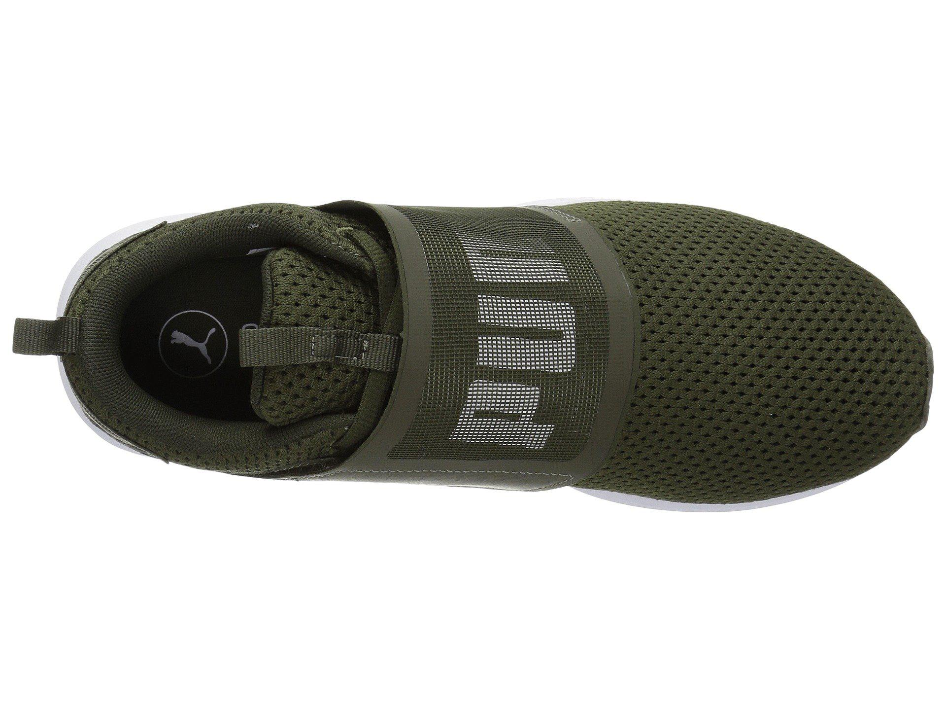 Lyst - PUMA Enzo Strap Mesh in Green for Men - Save 47% be225d2b1
