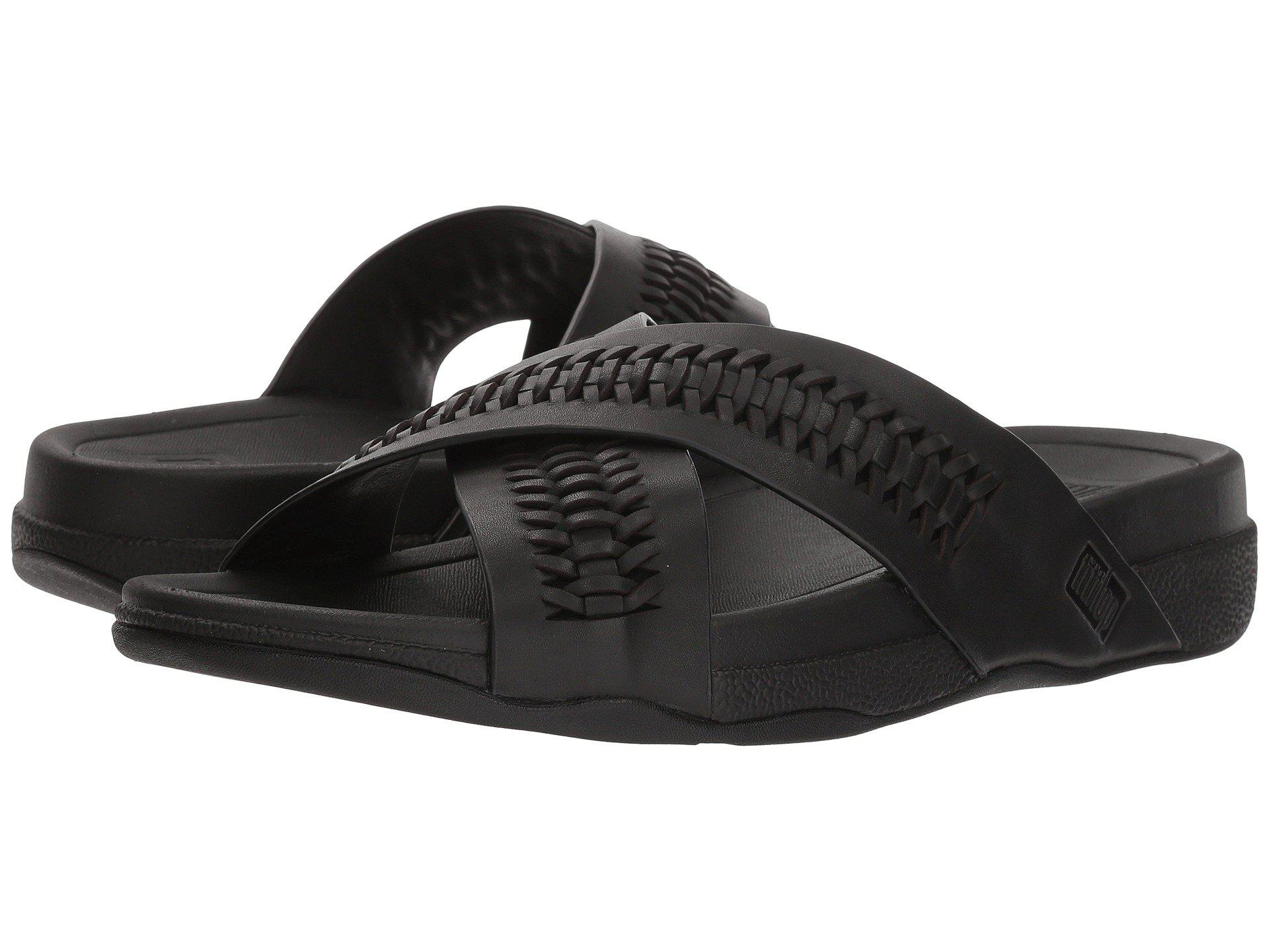 2cf75bdc39ce35 Fitflop. Men s Black Surfer Slide