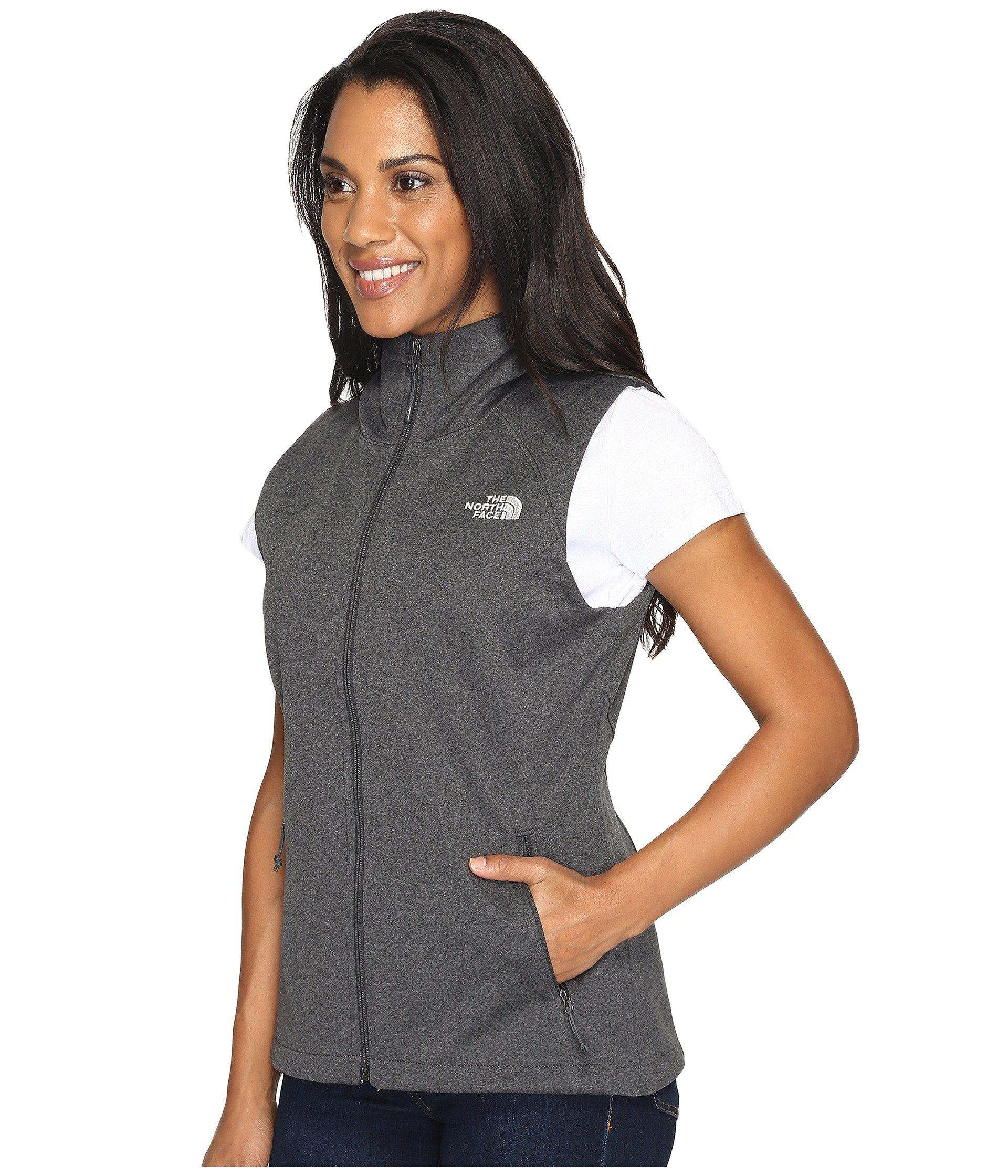 616a874b7695 Lyst - The North Face Canyonwall Hoodie Vest in Gray