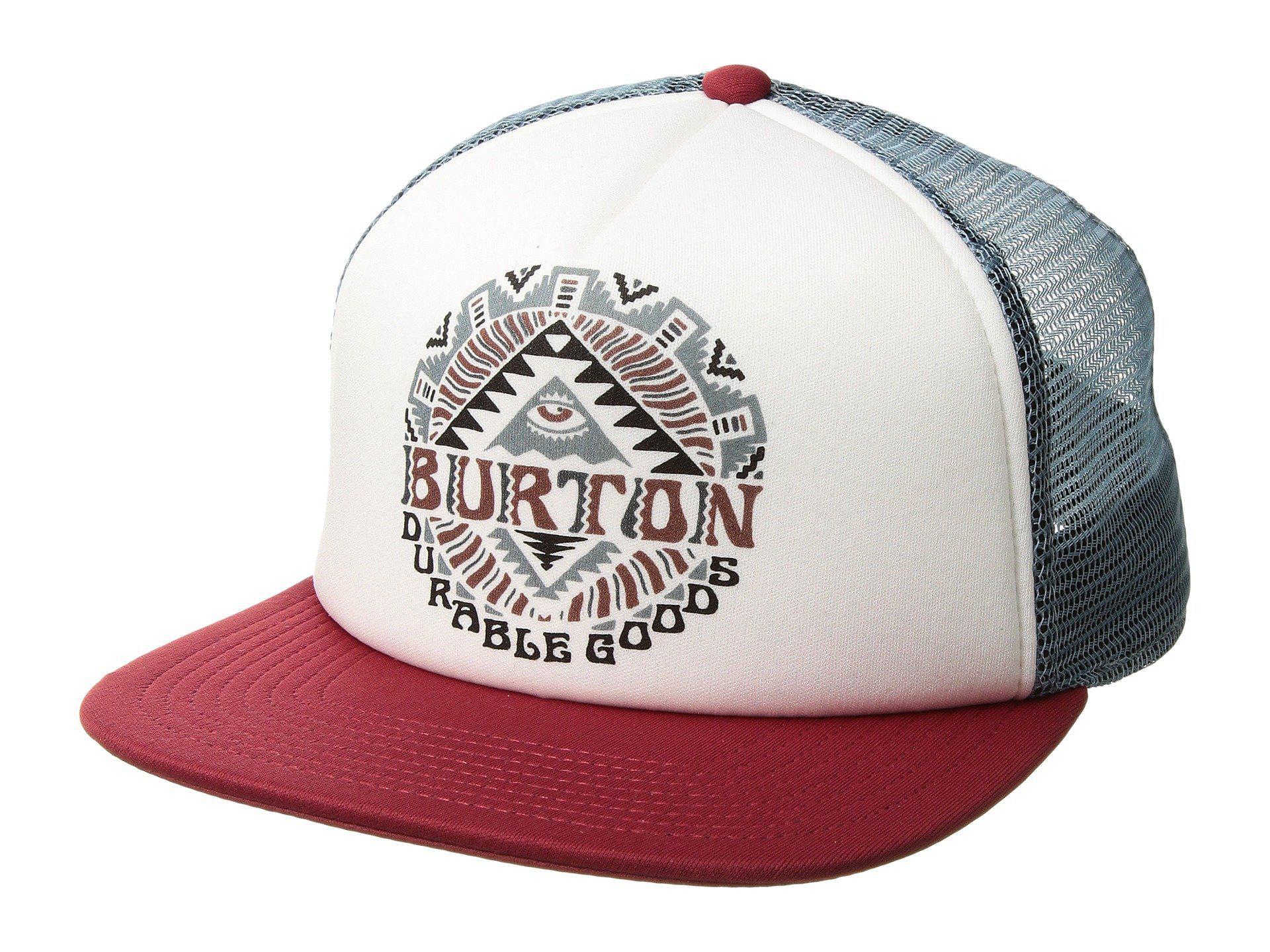 dabb53433842a Lyst - Burton I-80 Trucker Hat for Men