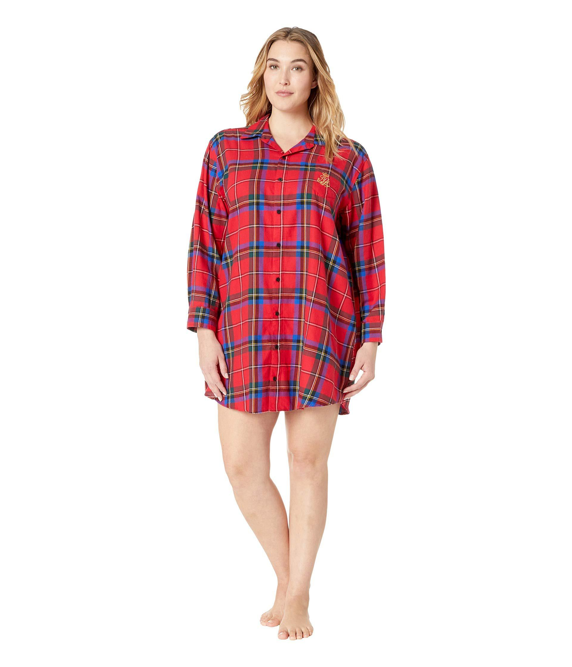Lyst - Lauren by Ralph Lauren Plus Size Brushed Twill His Shirt ... 9aefd4b8b