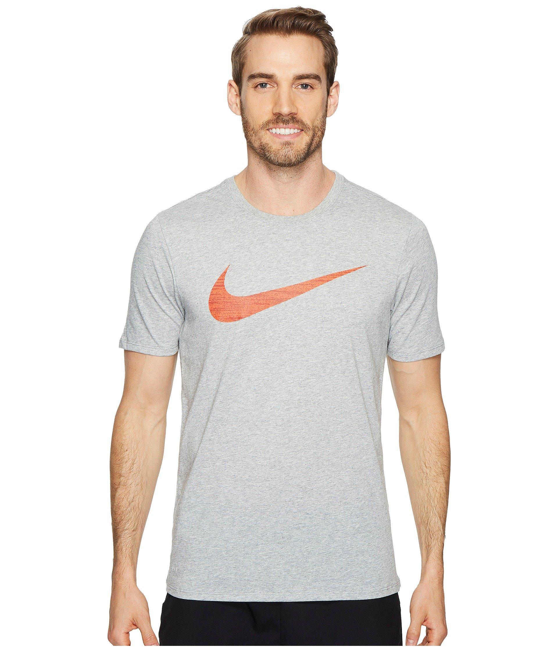 01e80fa55f Lyst - Nike Dry Swoosh Training T-shirt (game Royal) Men s T Shirt ...