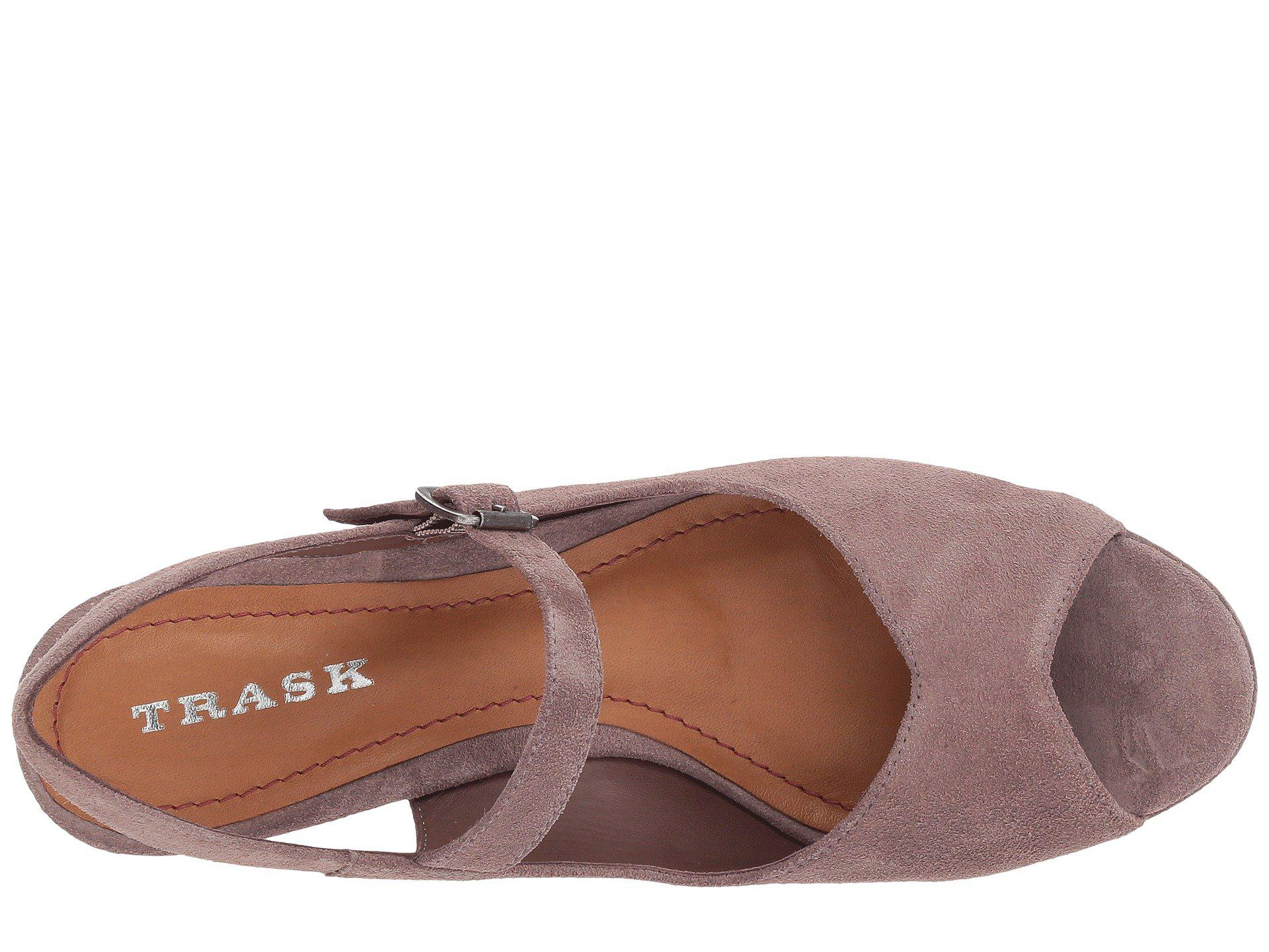 b8a43bfd84a4 Lyst - Trask Tessa in Brown