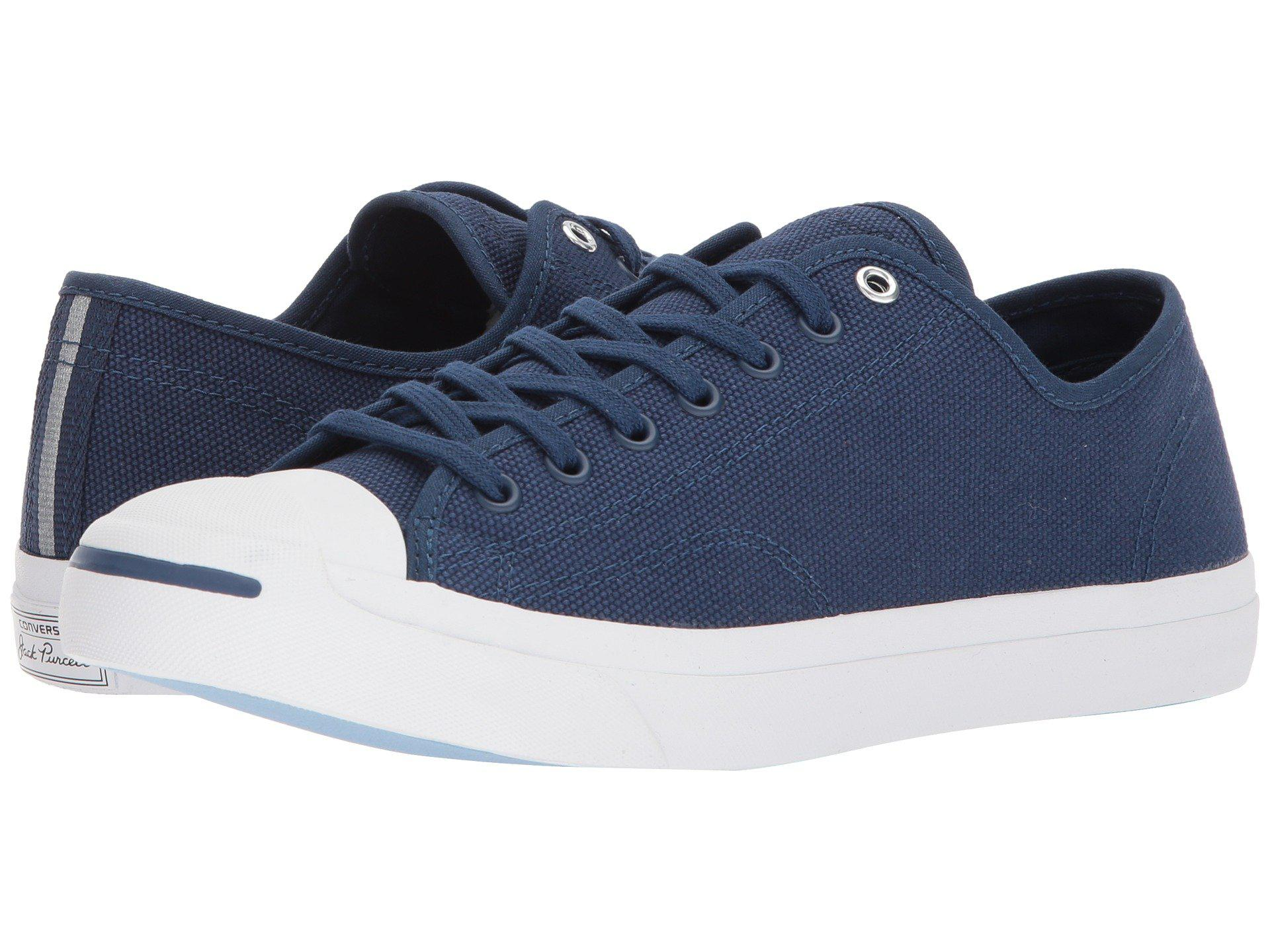 Lyst - Converse Jack Purcell® Jack Heavy Canvas Ox in Blue for Men cad7c4008